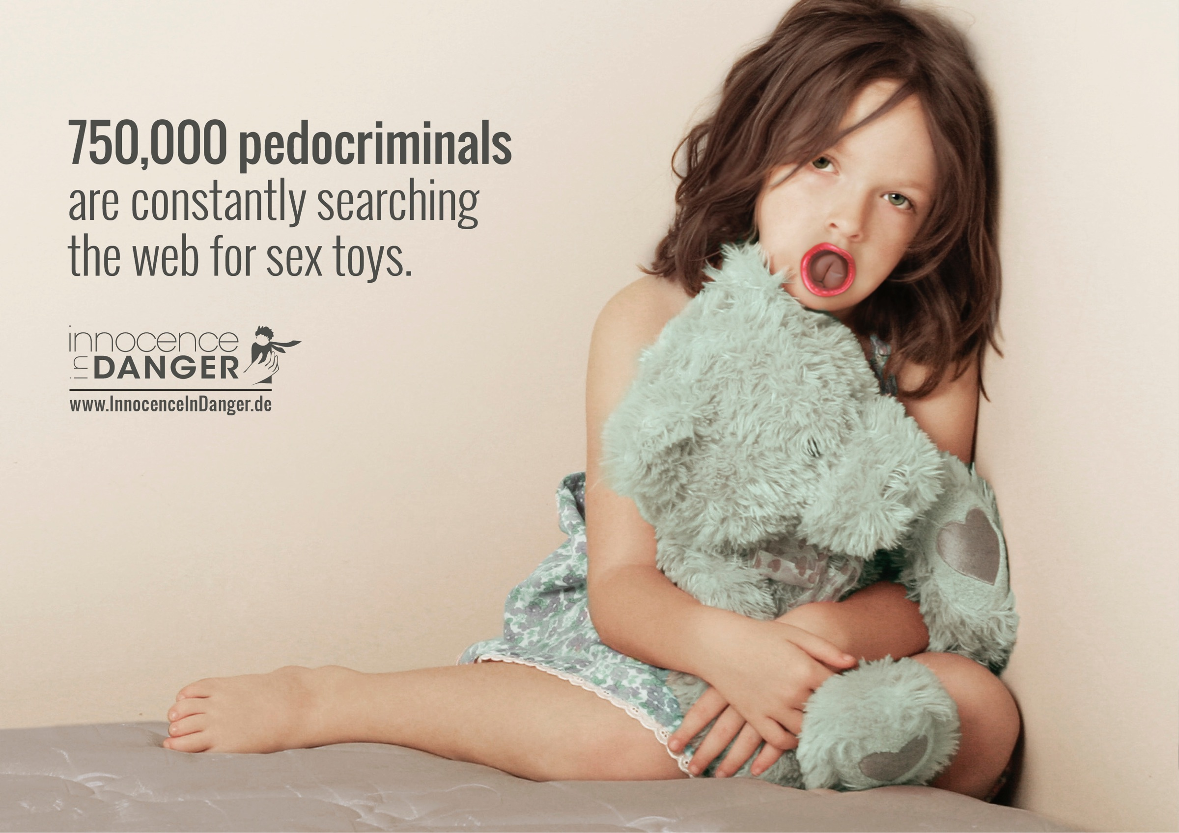 Innocence In Danger Print Advert By Glow: Sex toys, 1 | Ads of the ...