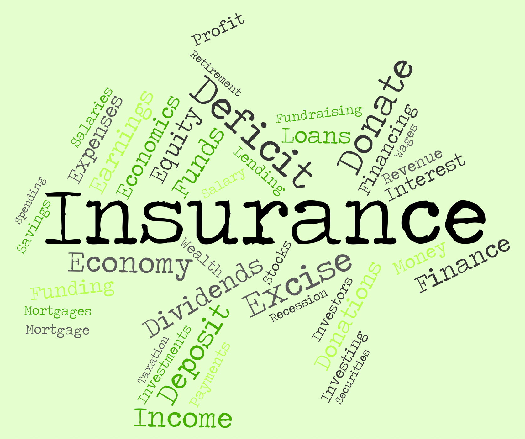 Insurance Word Indicates Covered Coverage And Contract, Protection, Policies, Policy, Text, HQ Photo