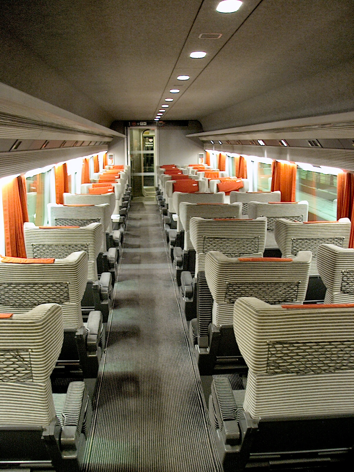 TGV Interior | Backpacking Europe the Cheap and Easy Way | Euro ...
