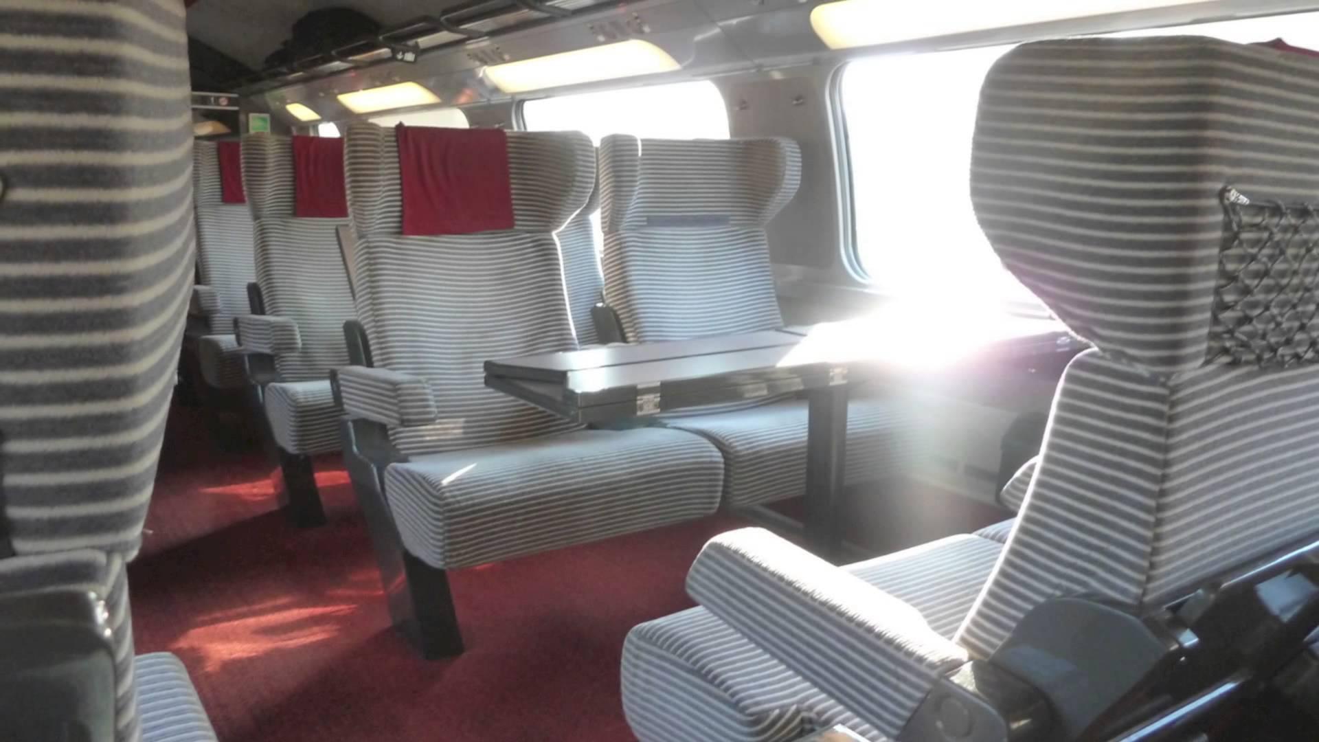 TGV Duplex - Perpignan - Paris - 9th July 2013 - YouTube