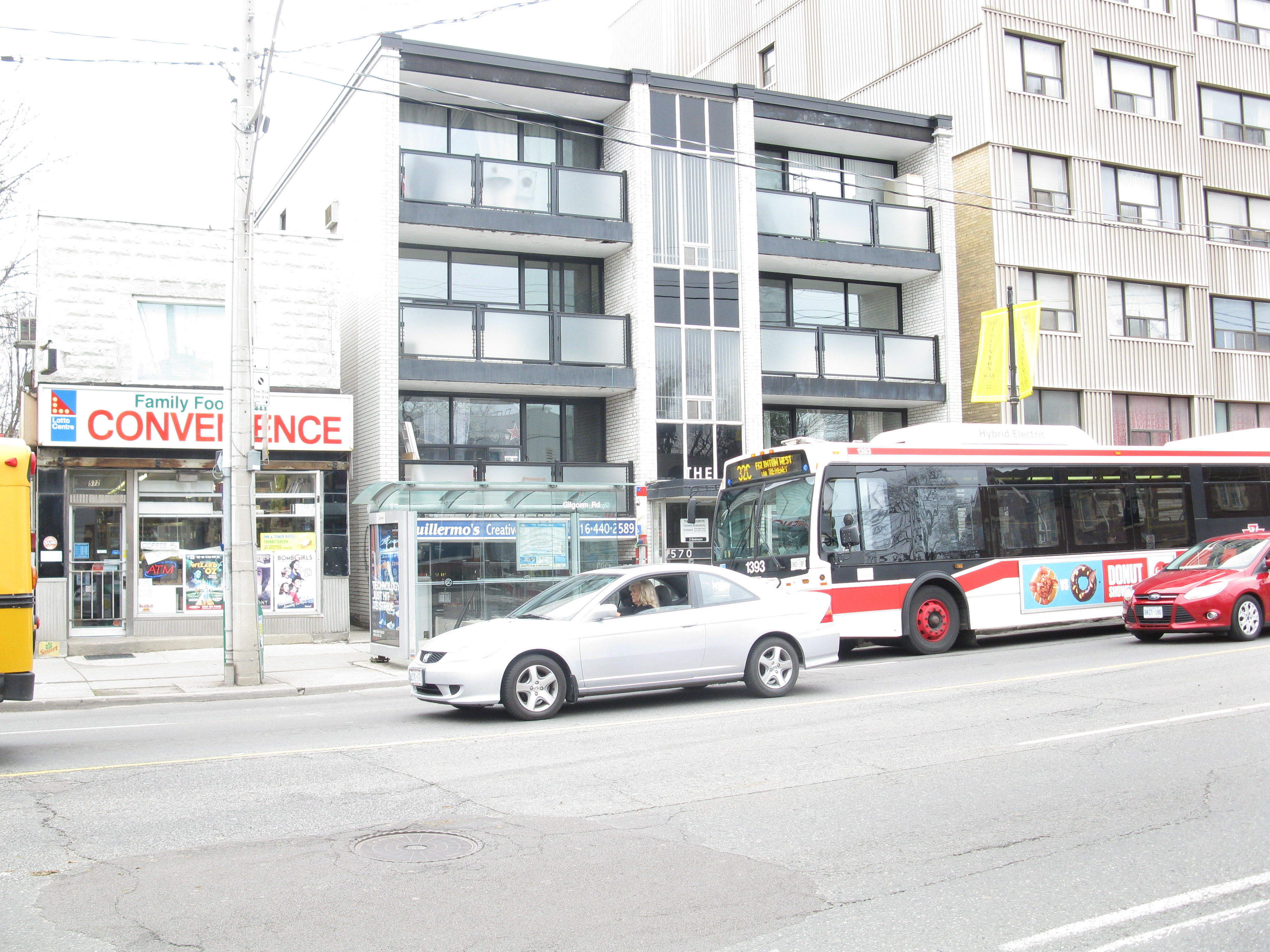 Intersection of Chaplin and Eglinton, 2013 04 09 -ar, Architecture, Building, Car, Outdoor, HQ Photo