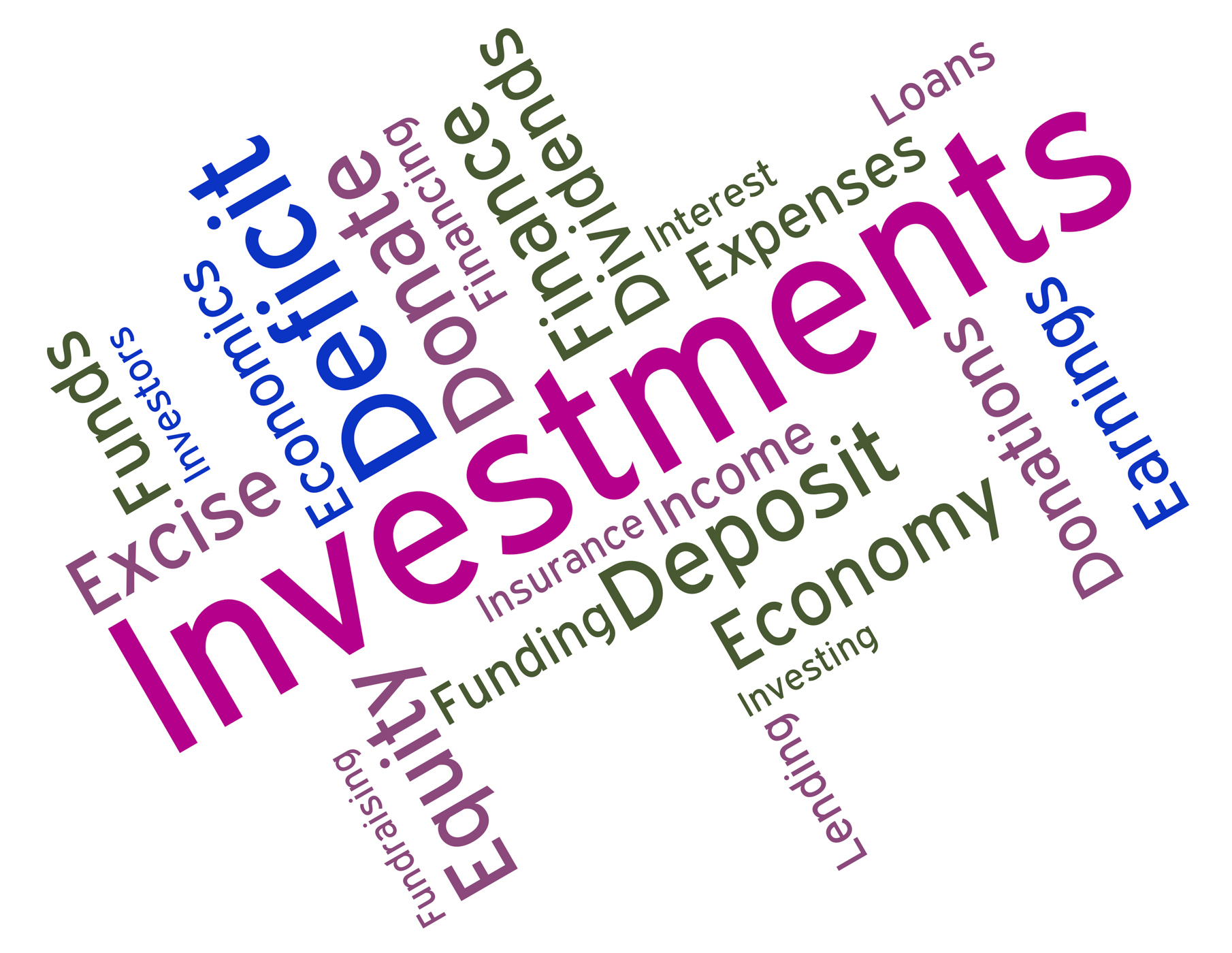 Investments Word Indicates Roi Stock And Wordcloud, Buyin, Wordcloud, Word, Text, HQ Photo