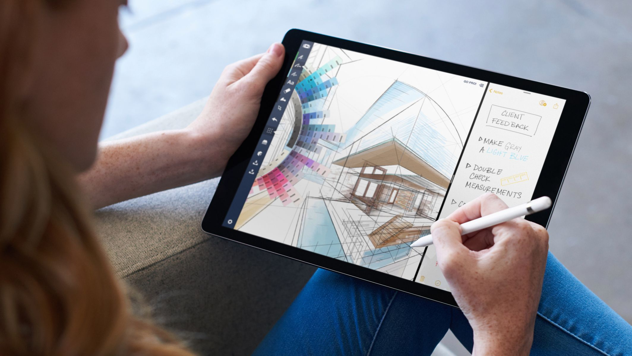 The new iPad Pro might be what the average person should buy instead ...