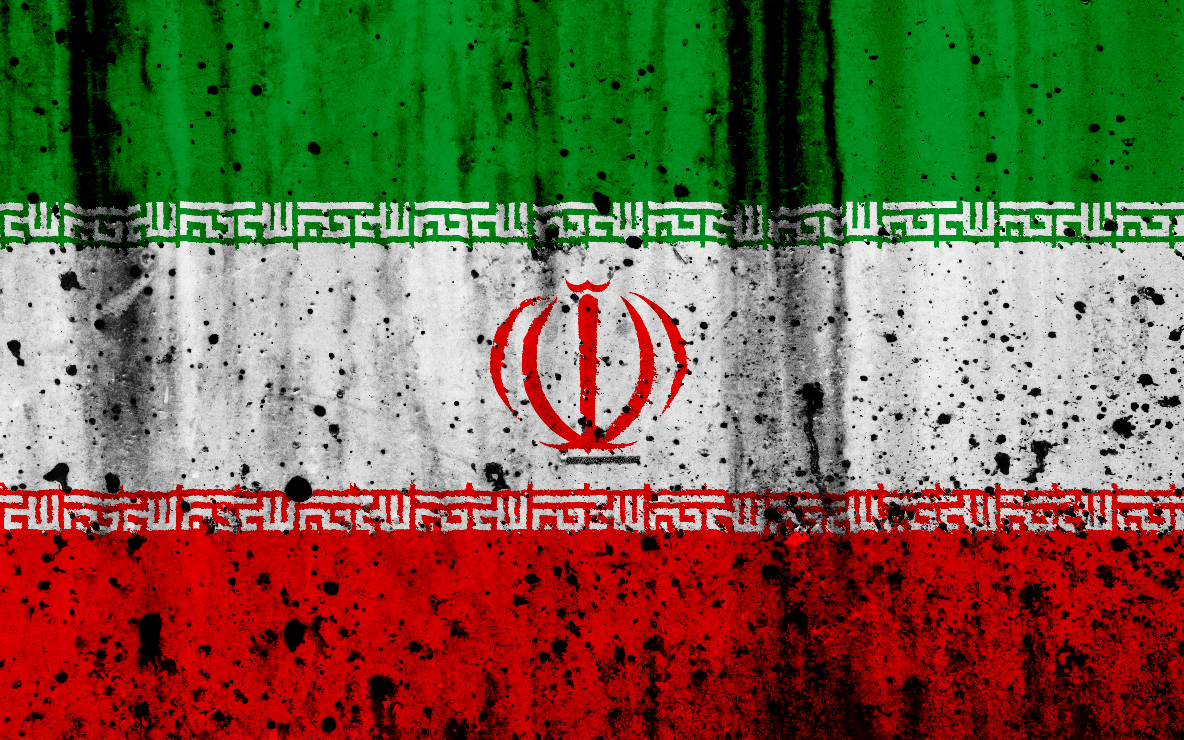 Download wallpapers Iranian flag, 4k, grunge, flag of Iran, Asia ...