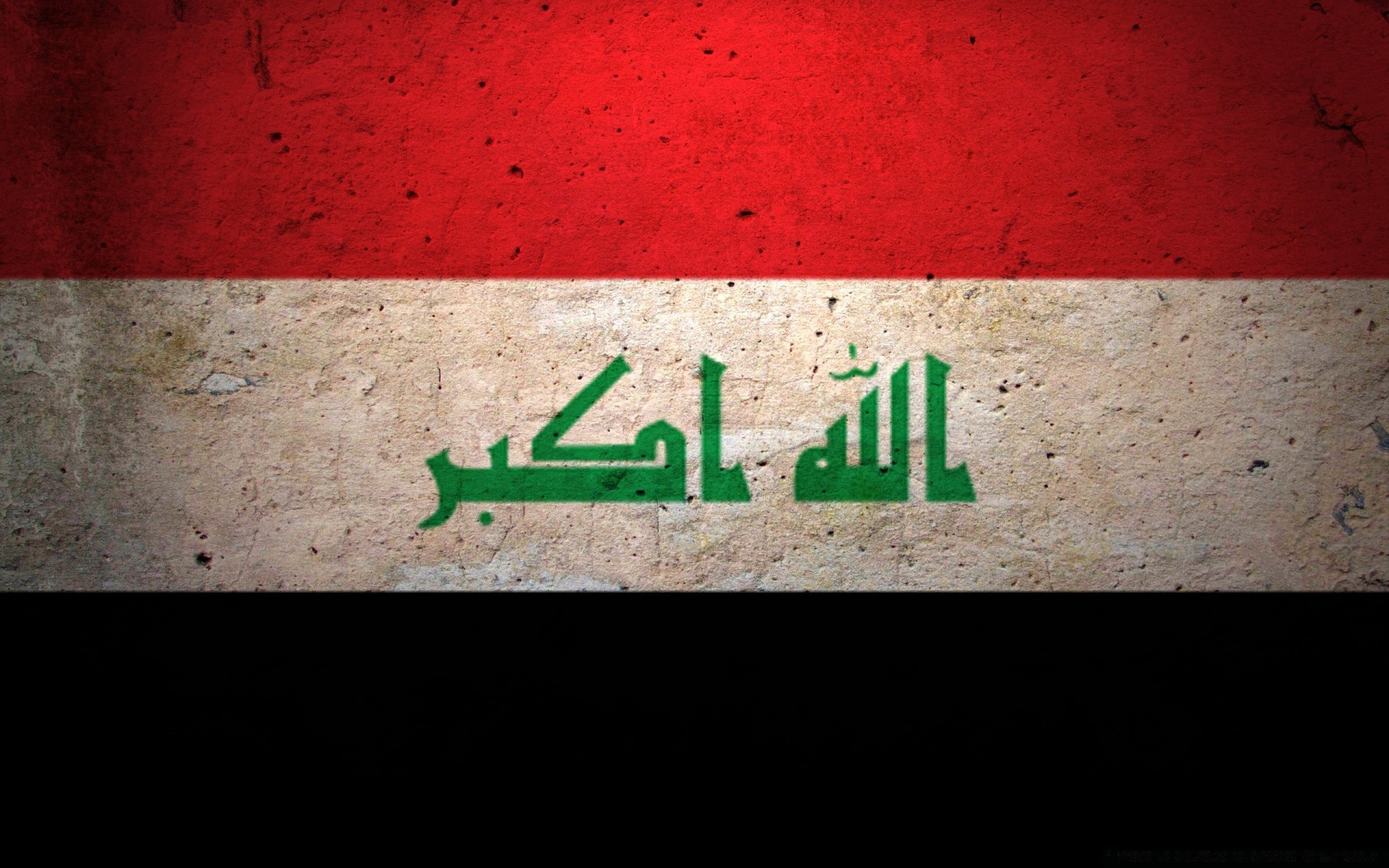 Grunge Flag Of Iraq. Android wallpapers for free.