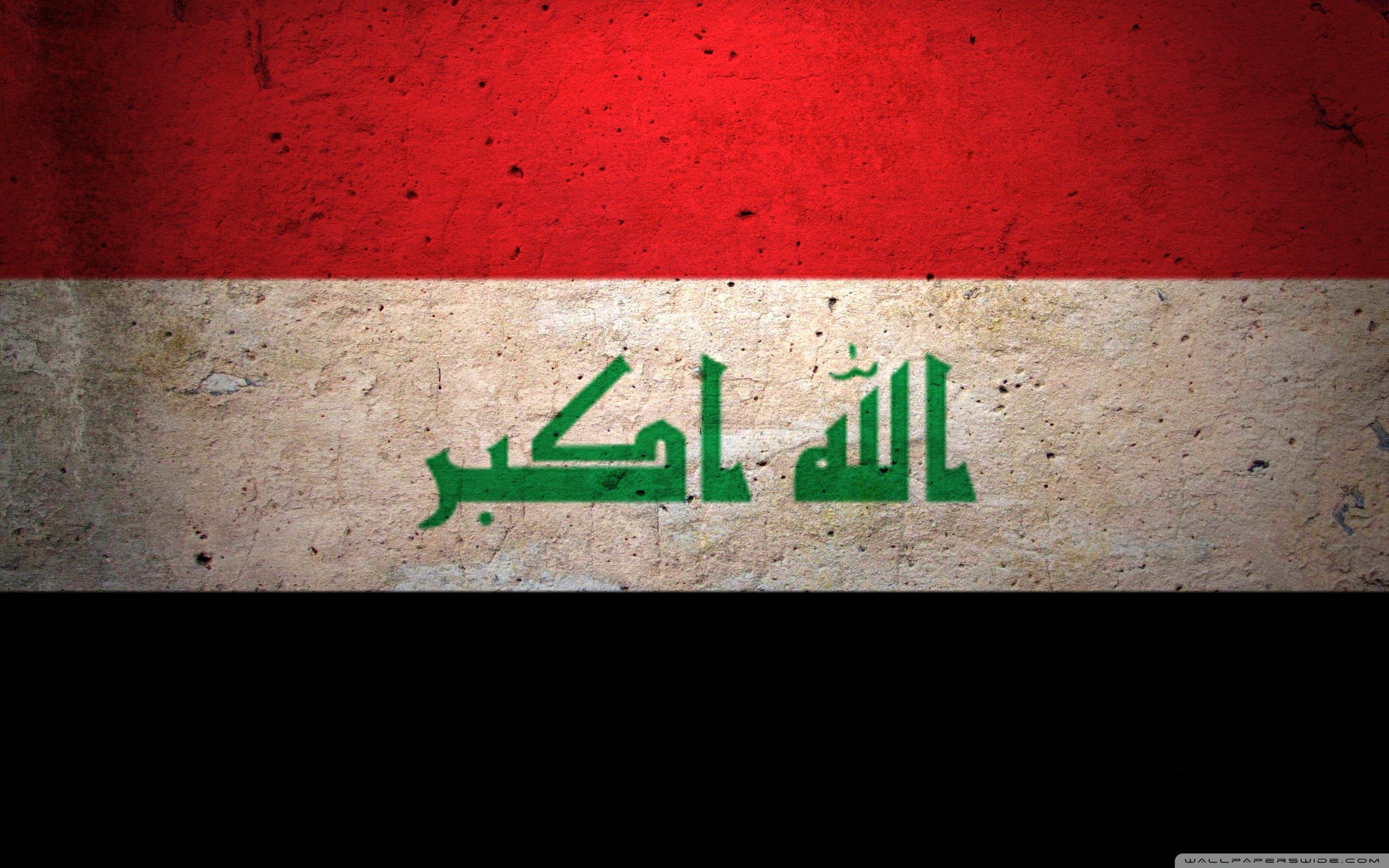 Iraq flag wallpaper | 2560x1600 | 250003 | WallpaperUP