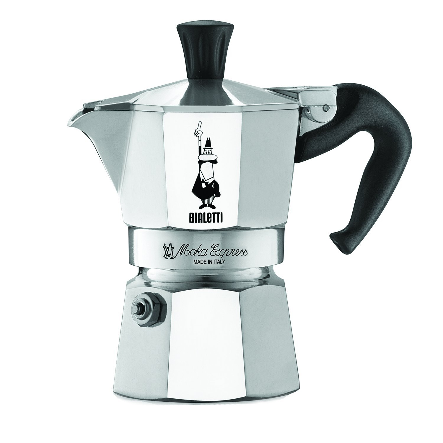 Amazon.com: The Original Bialetti Moka Express Made in Italy 1-Cup ...