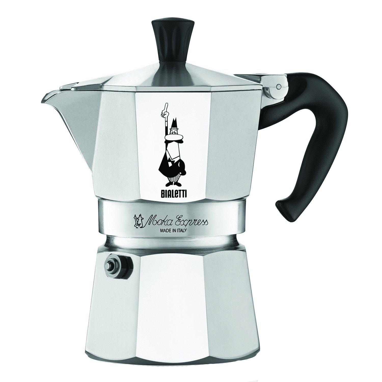 Bialetti 3 Cup Moka Express Espresso Maker - Aluminum Coffee Maker ...