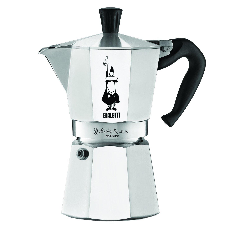 Bialetti Moka Express 6 Cup Stovetop Espresso Maker - Espresso ...