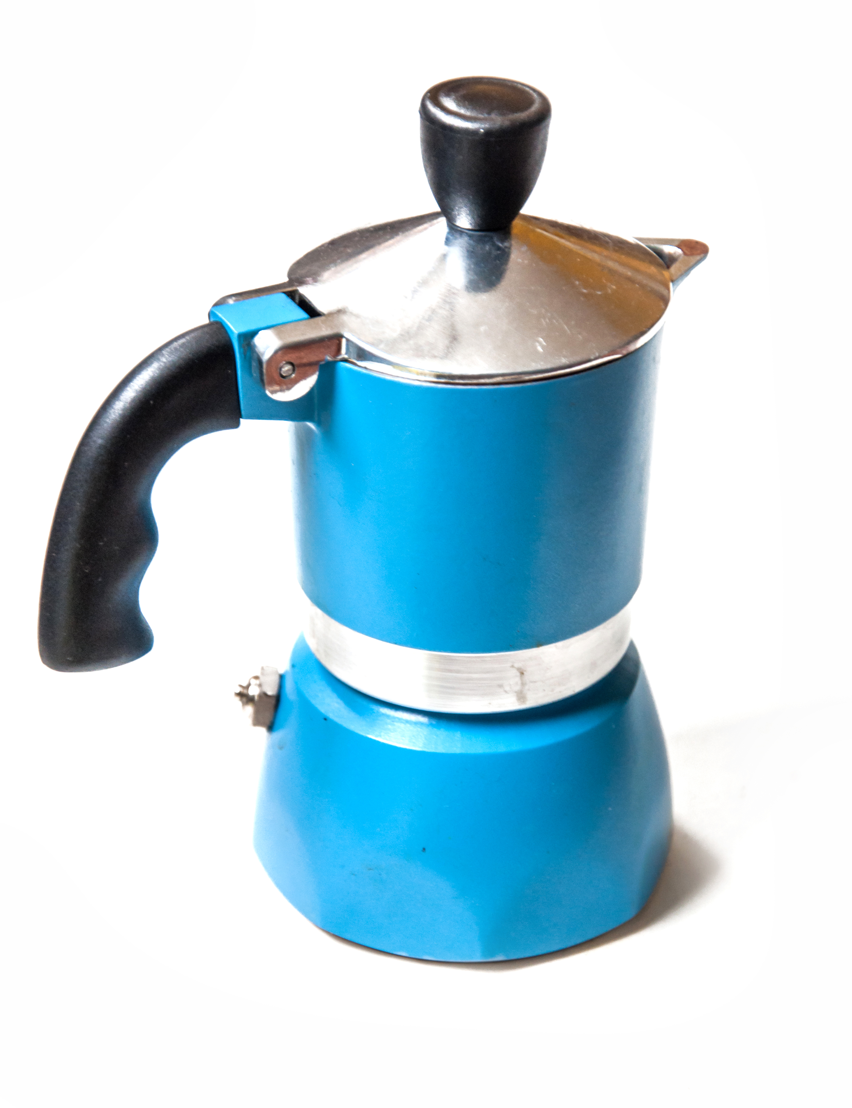 Italian coffee maker, Aged, Moka, Valves, Used, HQ Photo