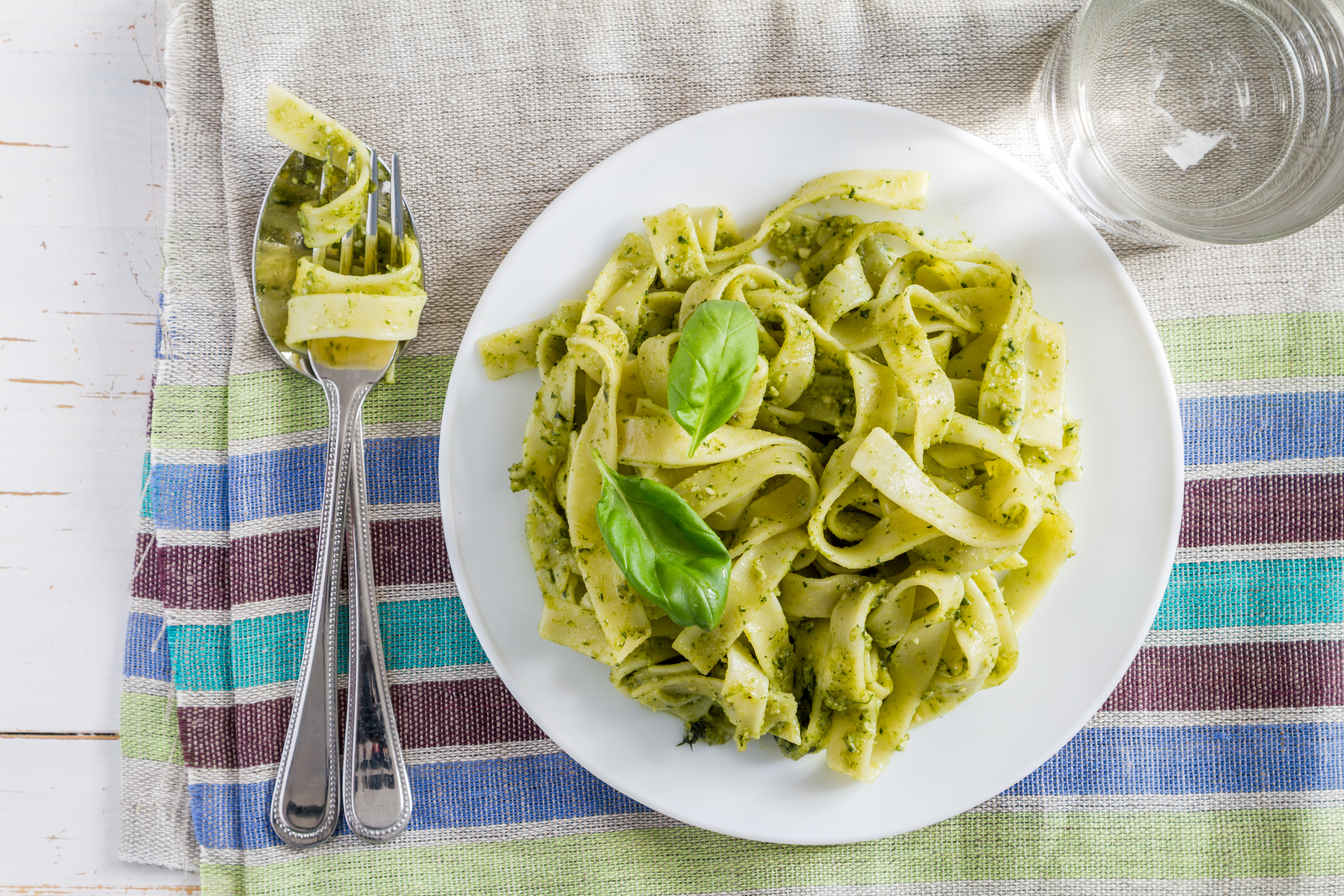 Italian food background photo