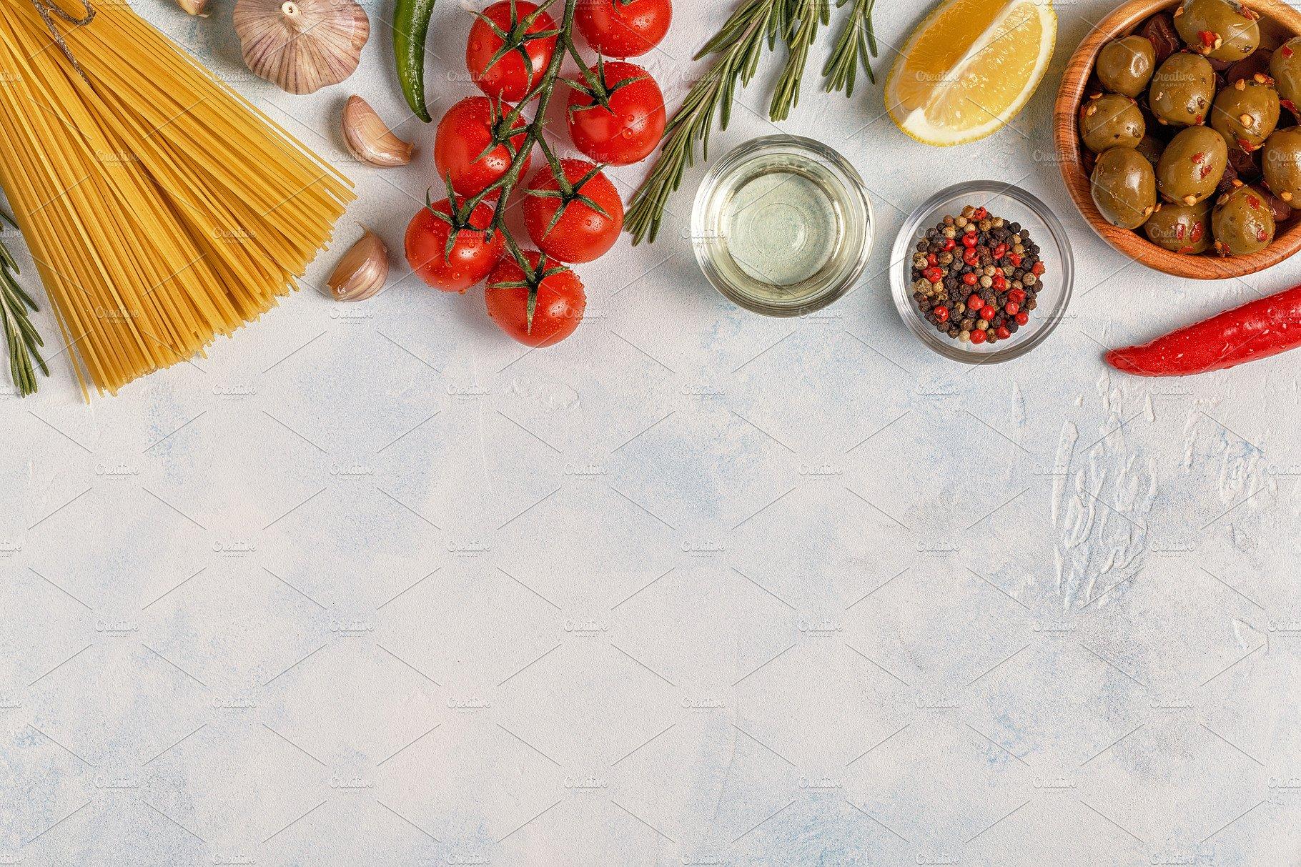 Italian food background ~ Food & Drink Photos ~ Creative Market