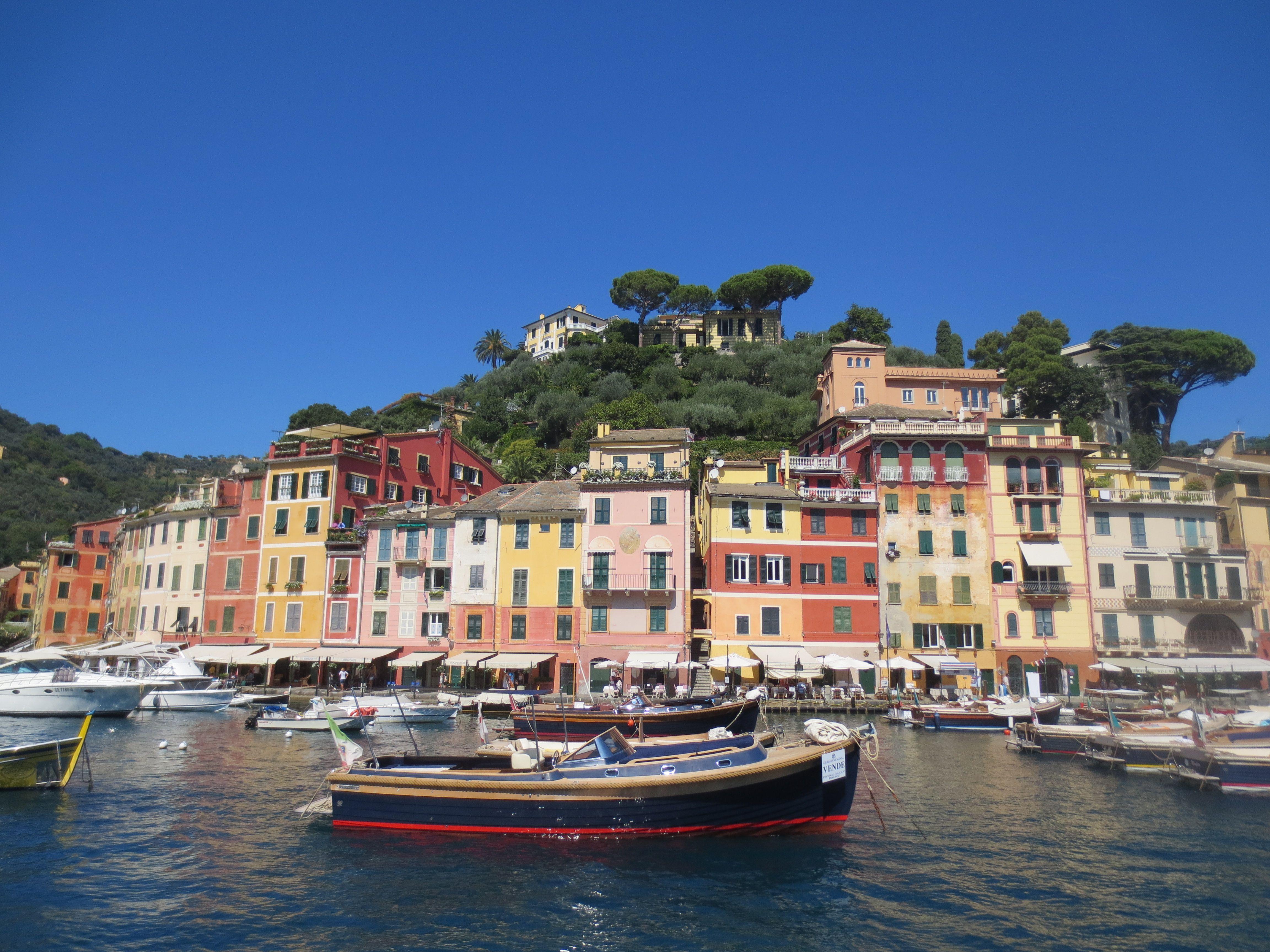 Portofino is an Italian fishing village, and upmarket resort famous ...