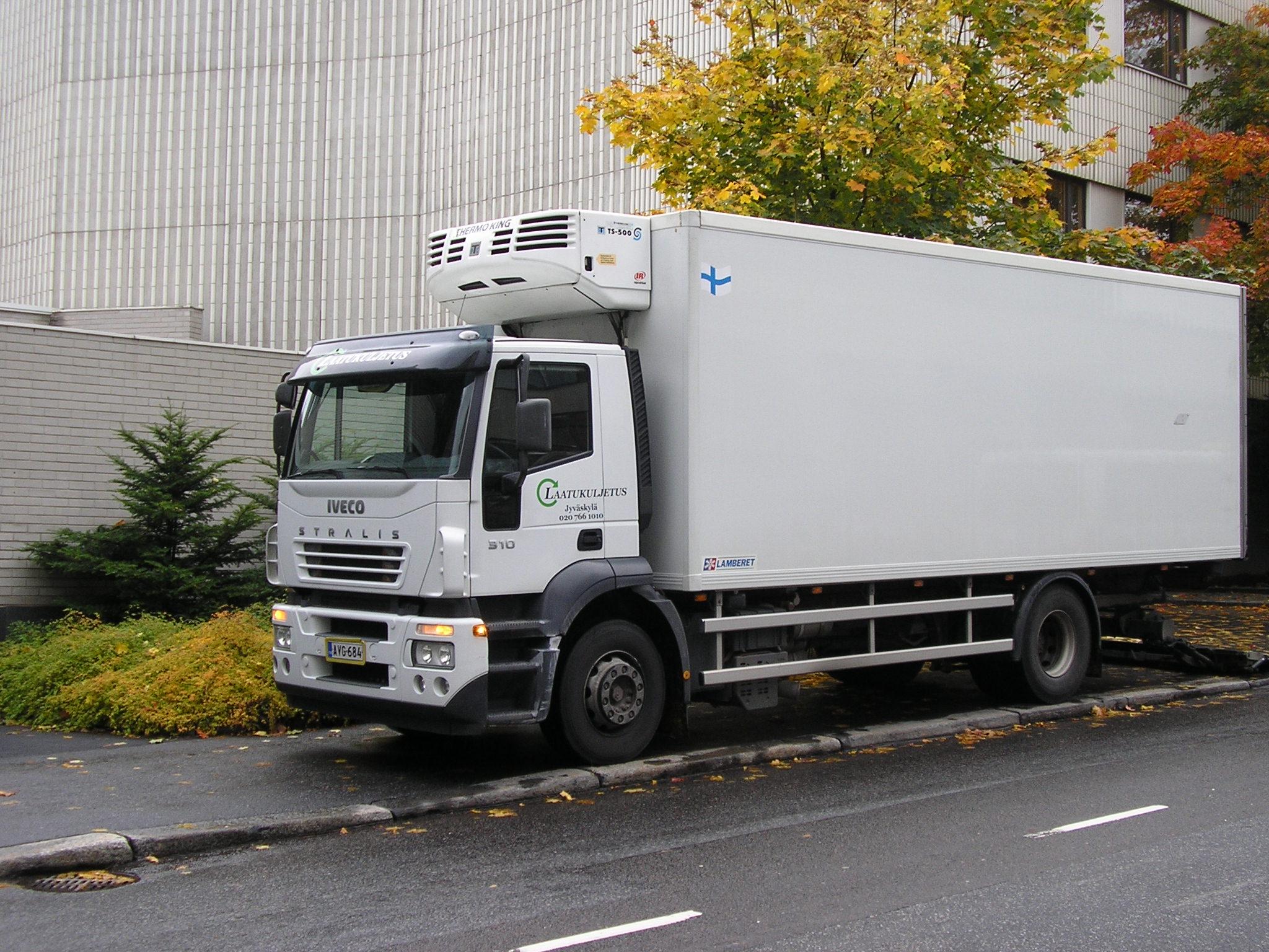 Iveco stralis lorry photo