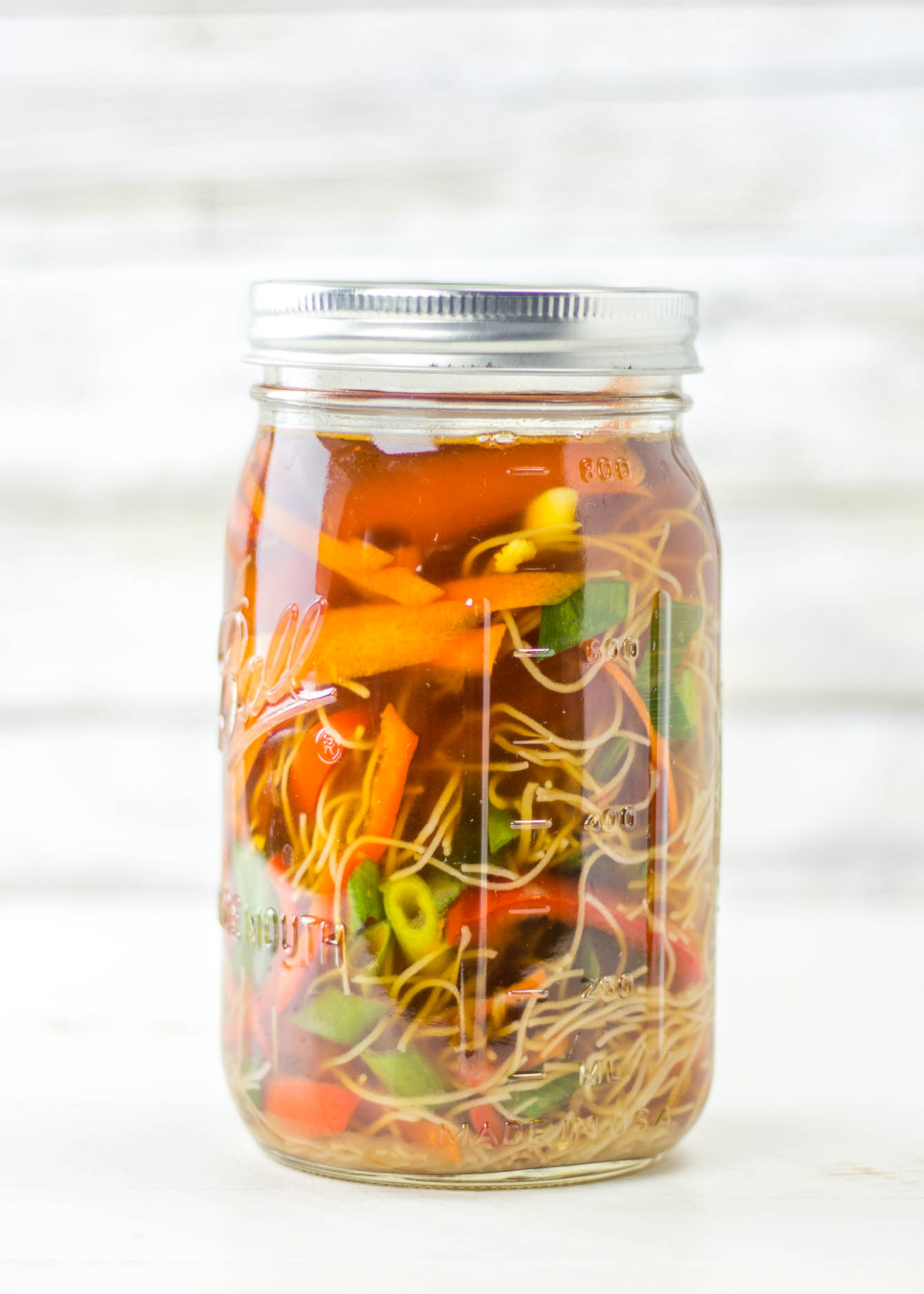 Pho Soup Made at Home in Mason Jar - Gluten Free Recipes | Easy ...