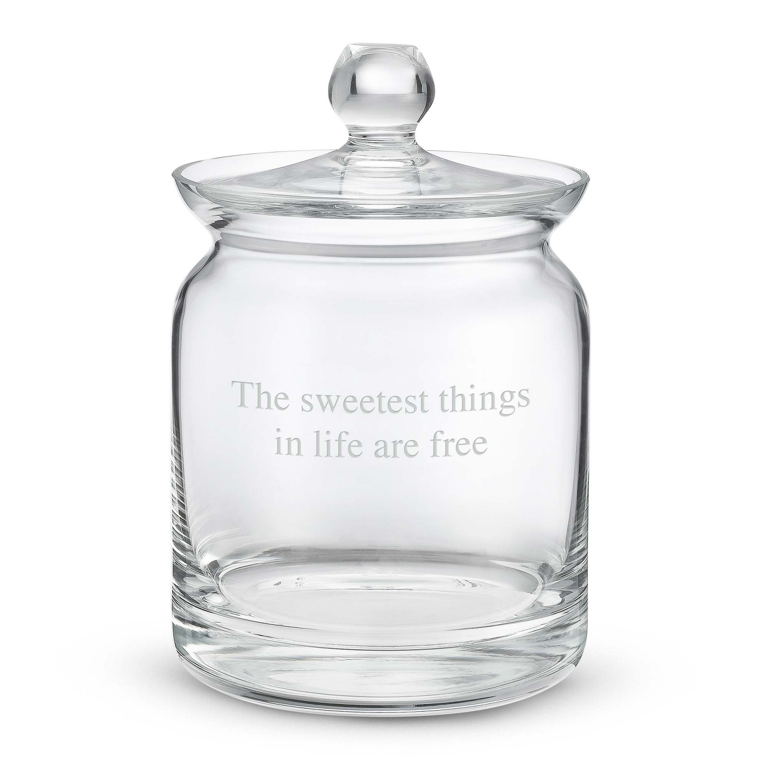 Personalized Biscuit Candy Jar