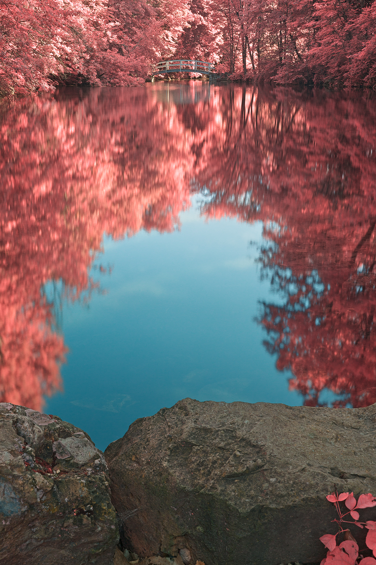 Jean-Drapeau Love Pond - HDR, Abstract, Picturesque, Rock, Reflective, HQ Photo