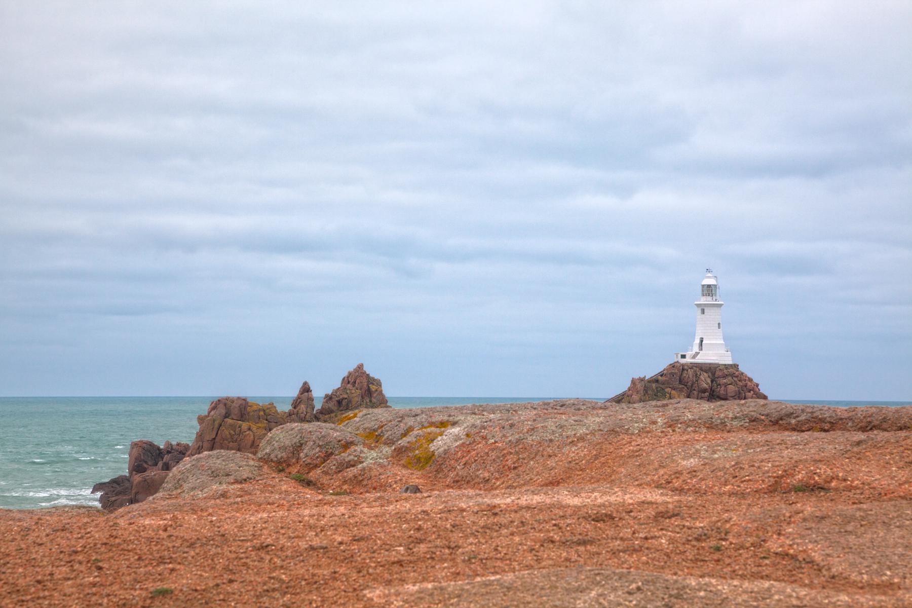 Jersey coastal scenery - hdr photo