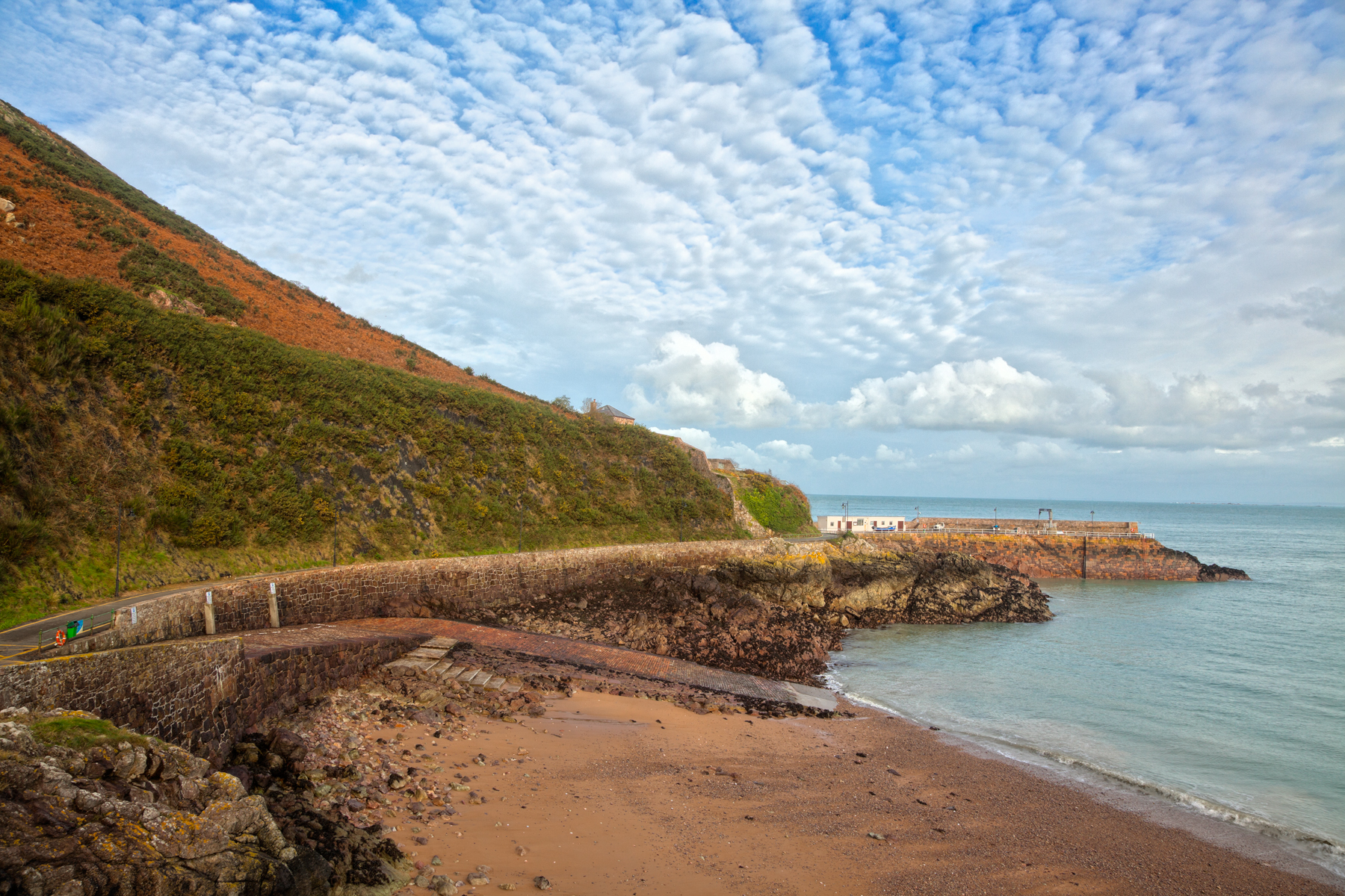 Jersey Coastal Scenery - HDR, Pretty, Sandy, Sands, Sand, HQ Photo