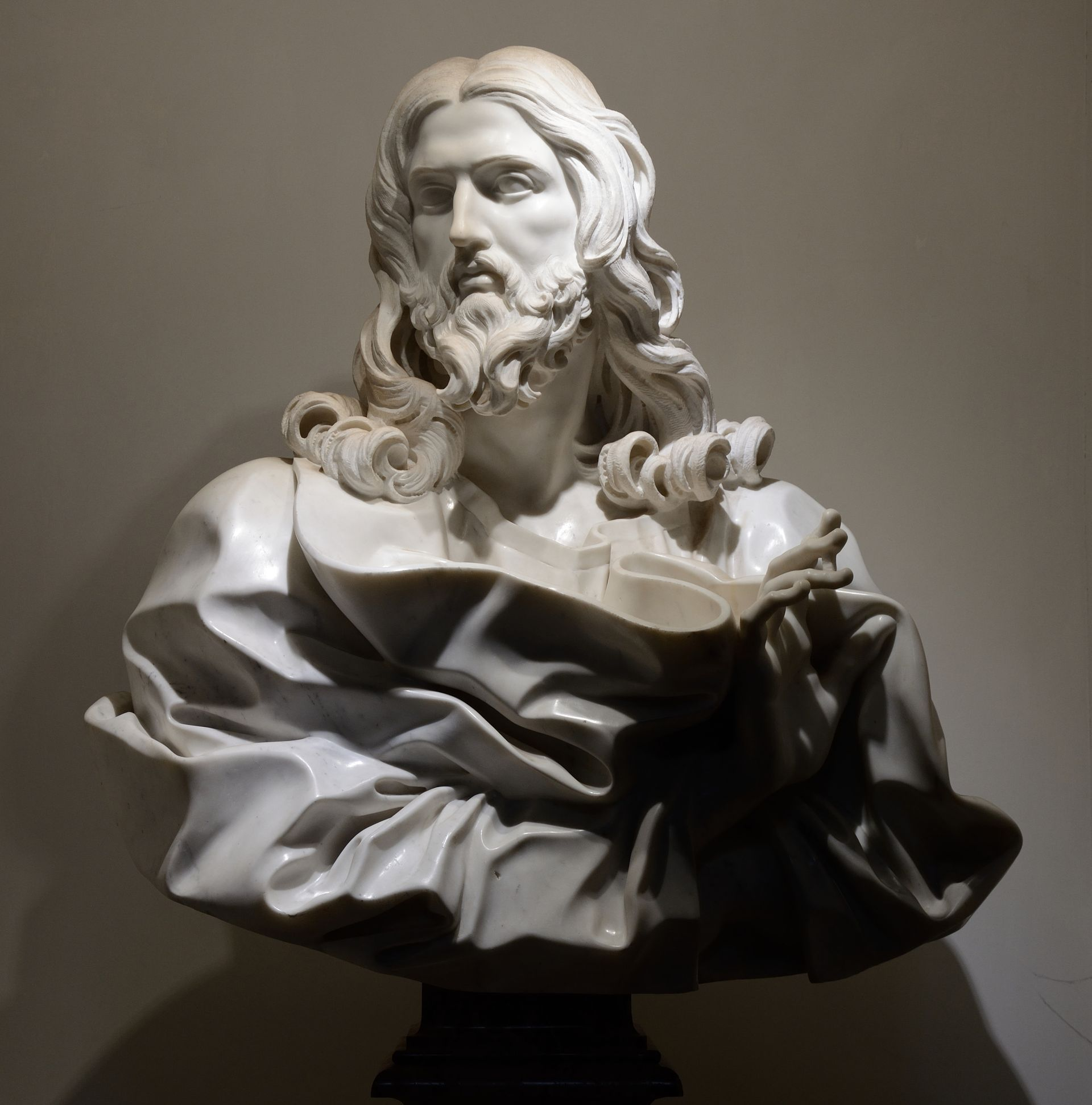 Bust of Jesus Christ by Gianlorenzo Bernini - List of works by Gian ...