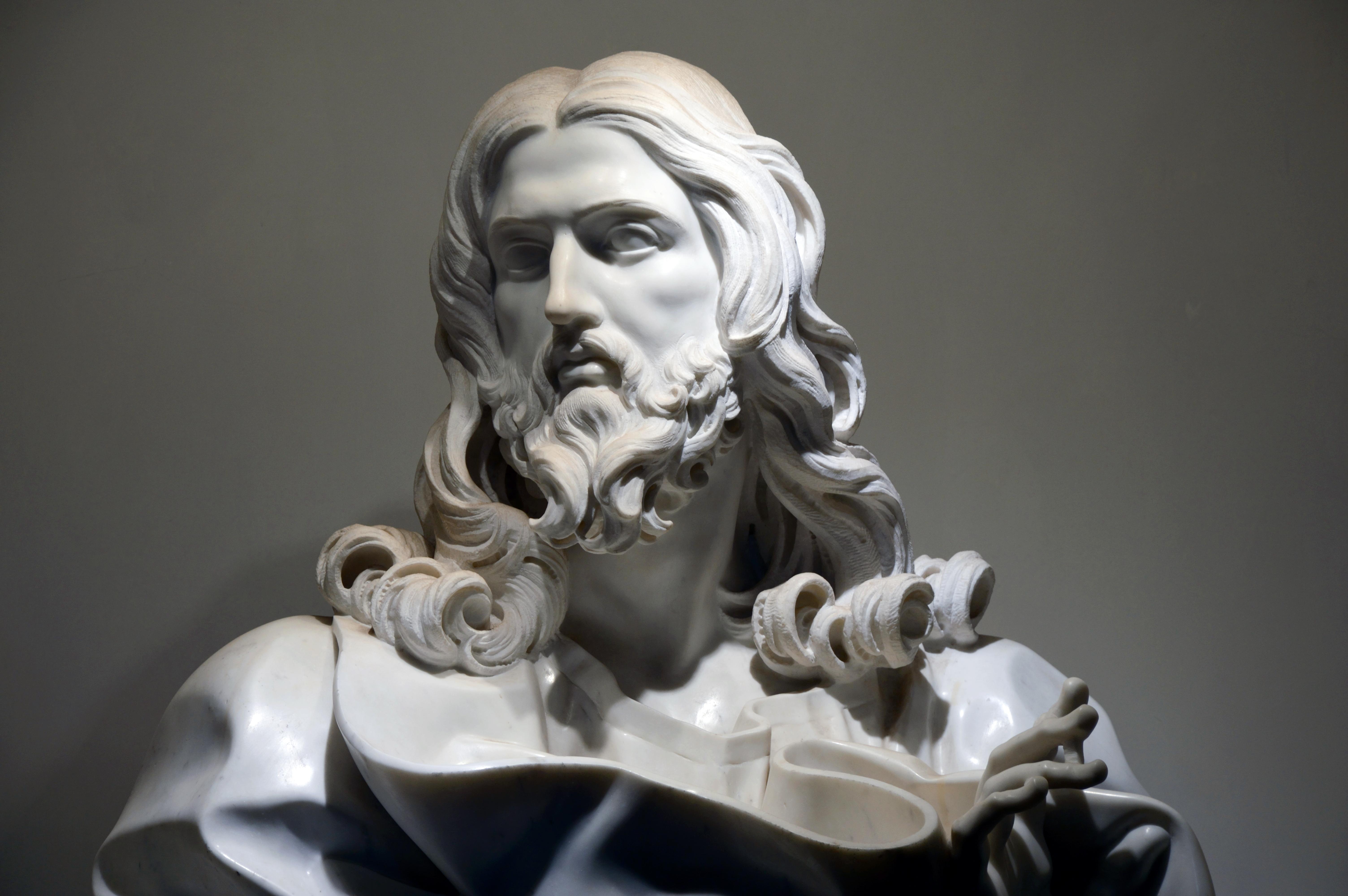 File:Jesus Christ of Gian Lorenzo Bernini in San Sebastiano fuori le ...