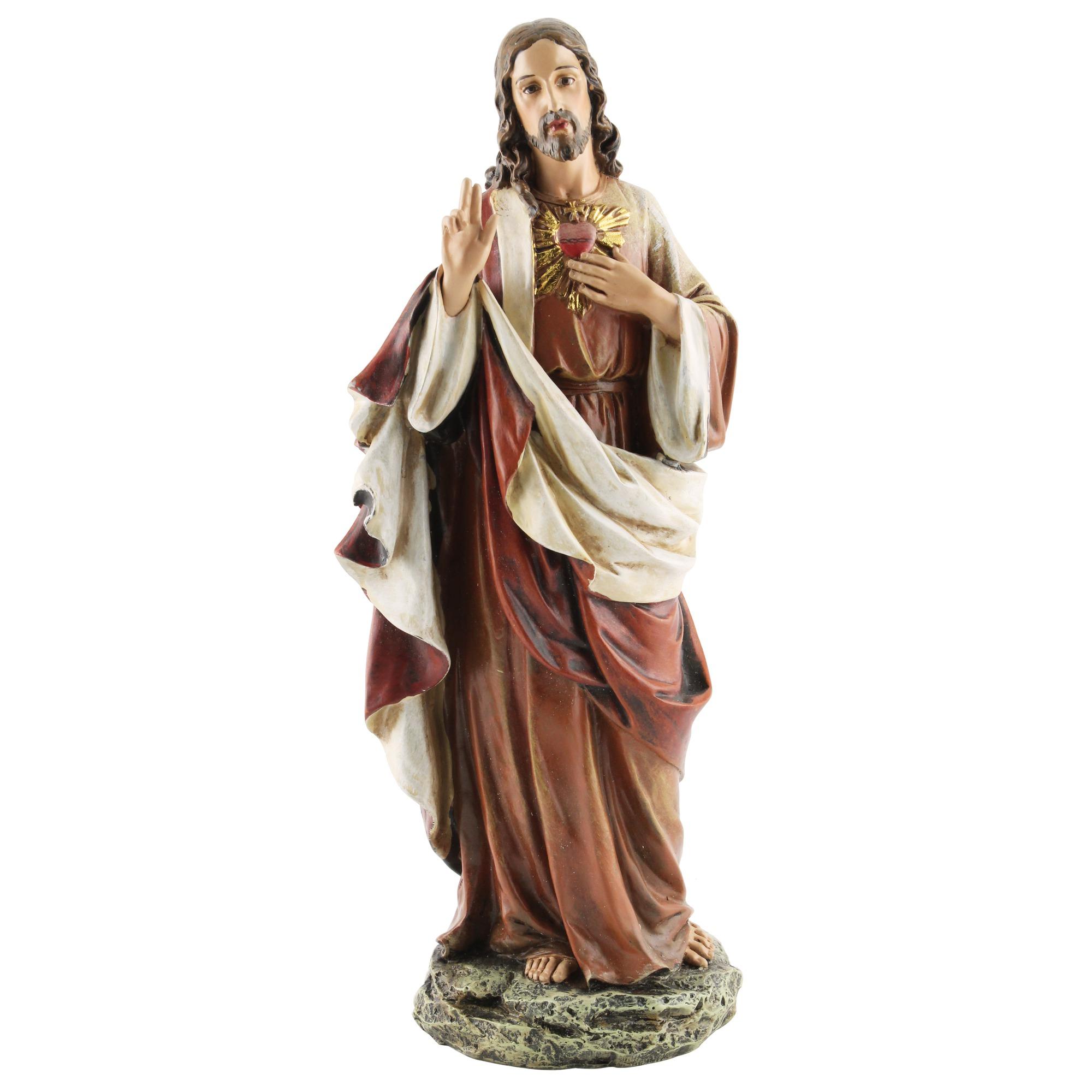 Sacred Heart of Jesus Figure - 10.25 inch | The Catholic Company