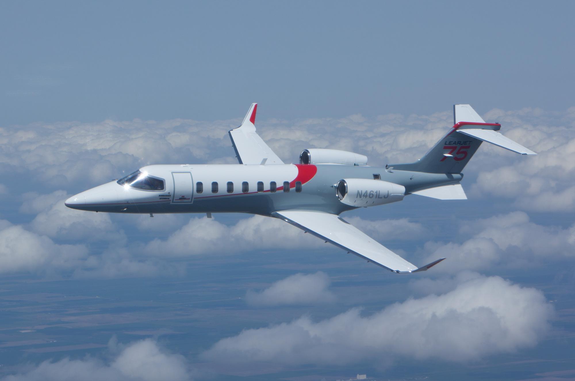Pilot Report: Learjet 75 | Business Aviation News: Aviation ...