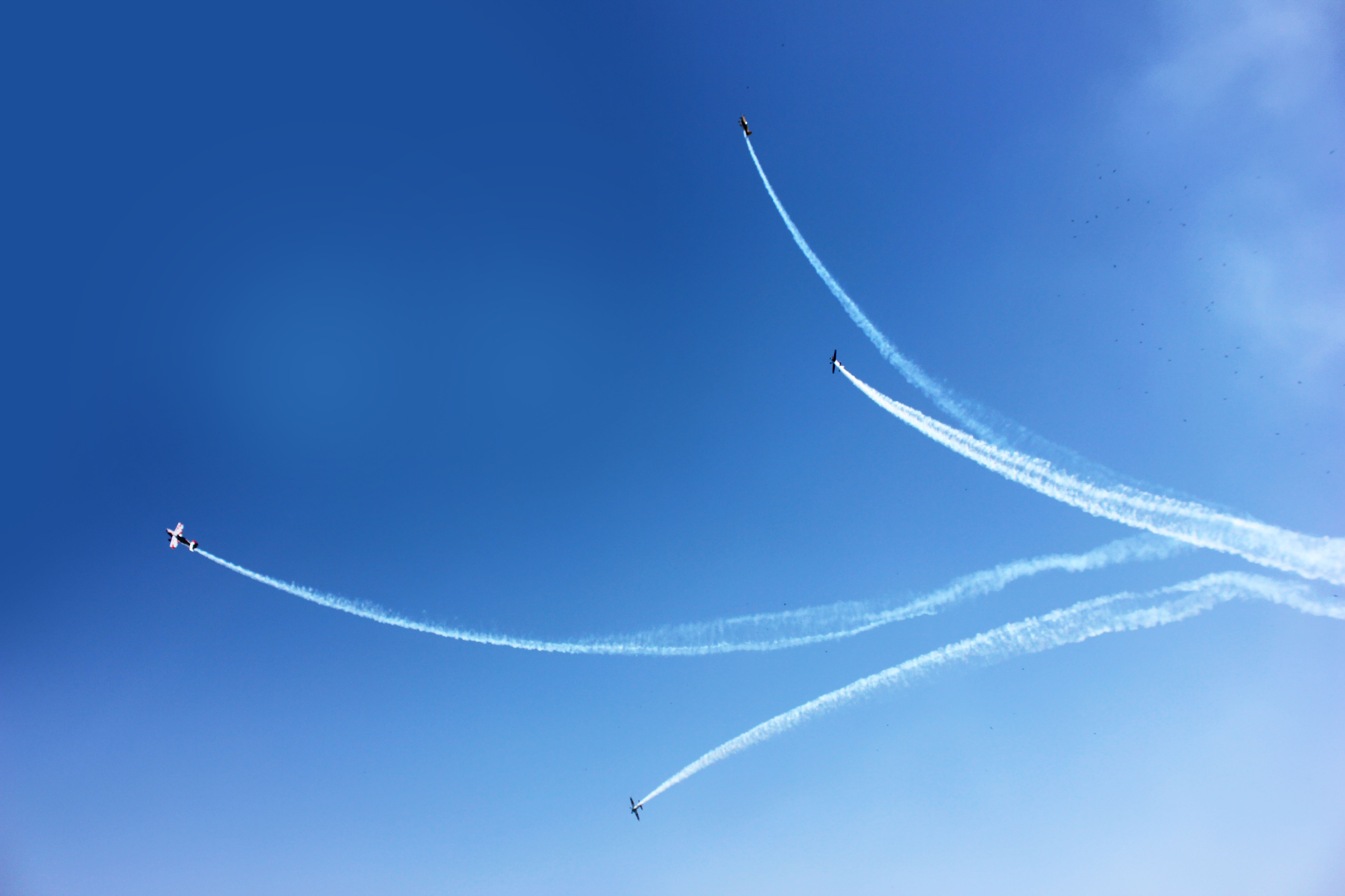 Jet plane show photo