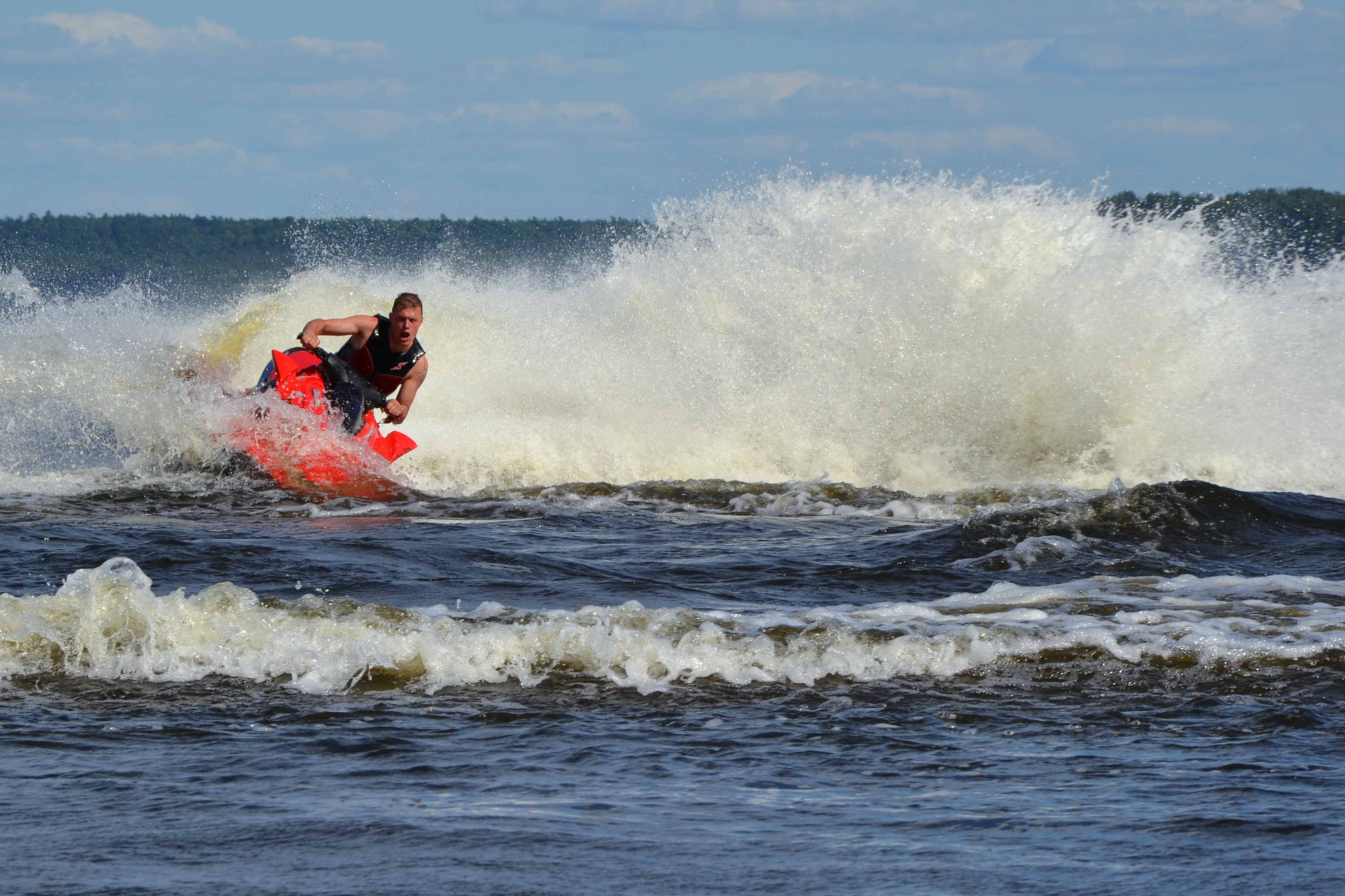 Jet ski, Sports, Risk, Rough, Ship, HQ Photo