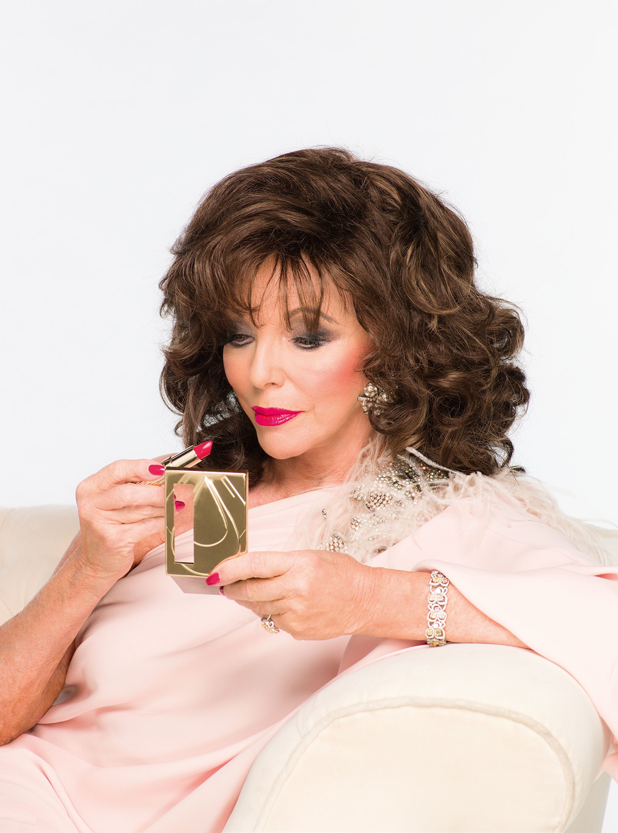 Beauty Tips From The Glamorous Joan Collins