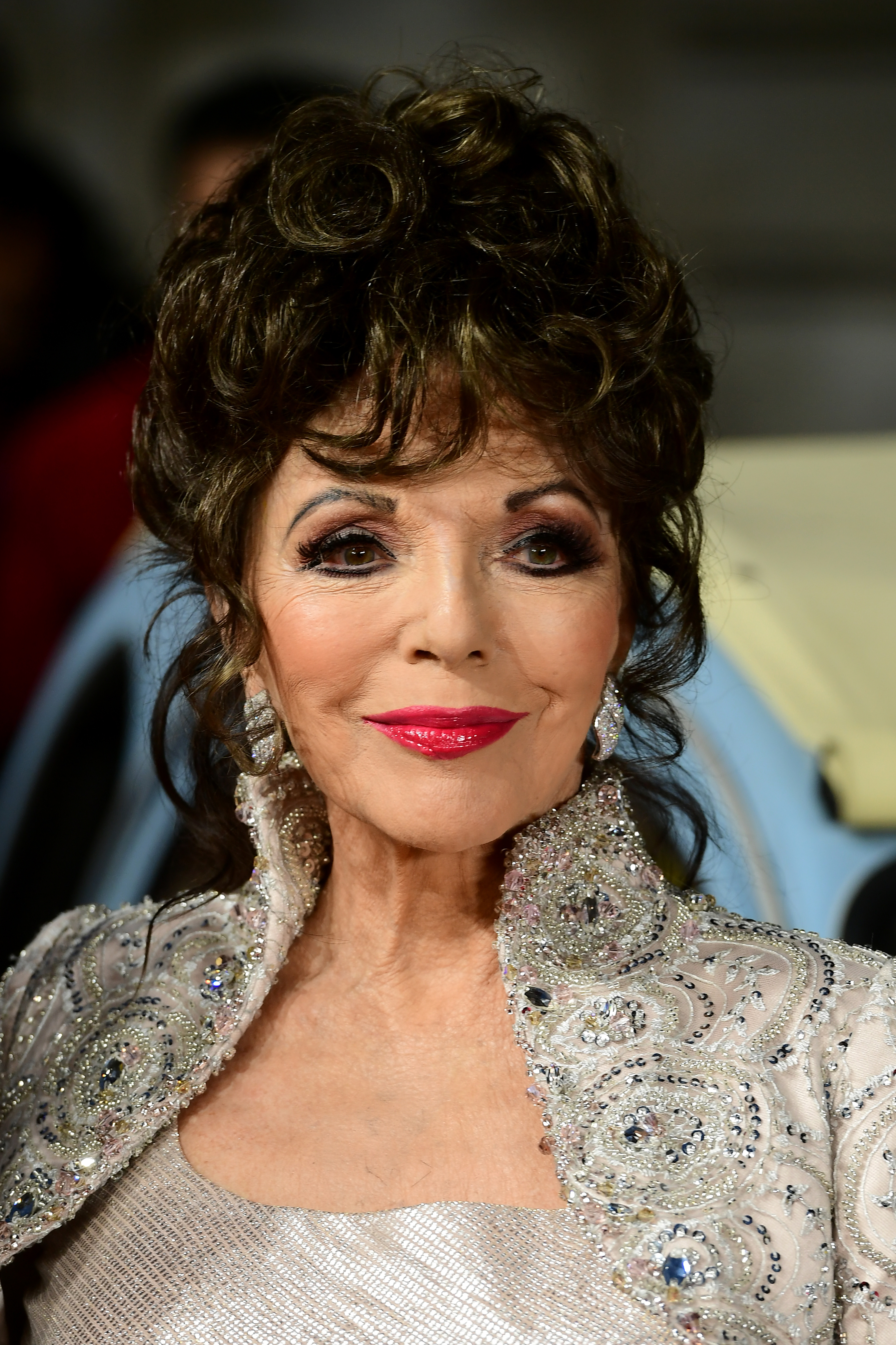 Dame Joan Collins dismisses son's Anthony Newley 'paedophile' claims ...