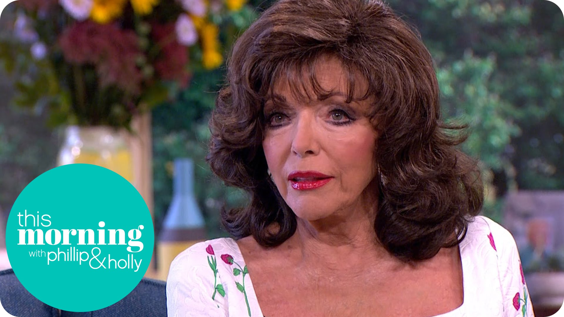 Dame Joan Collins Emotionally Talks About Her Sister Jackie | This ...