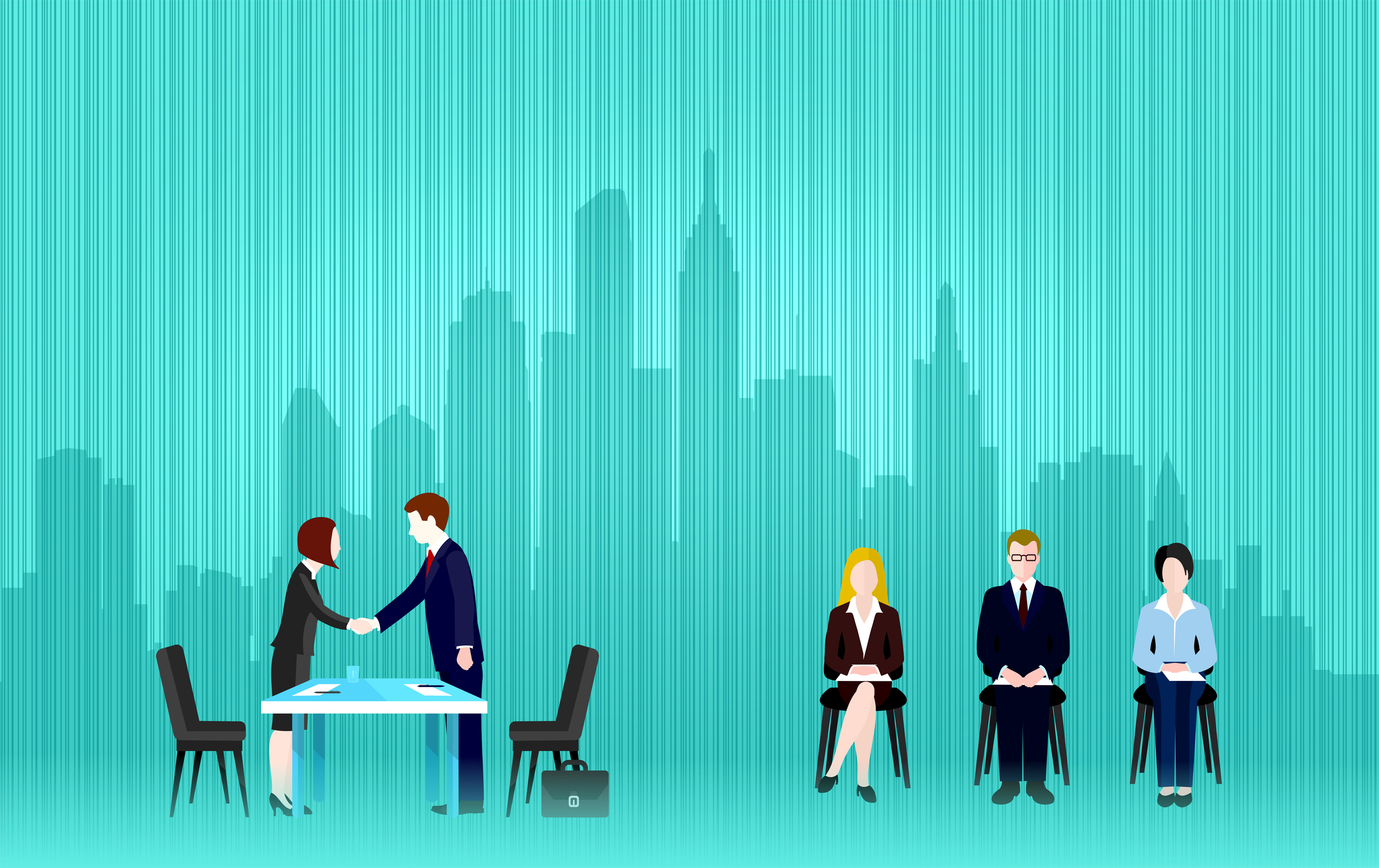 Job Interview, People, Office, Occupation, Notepad, HQ Photo