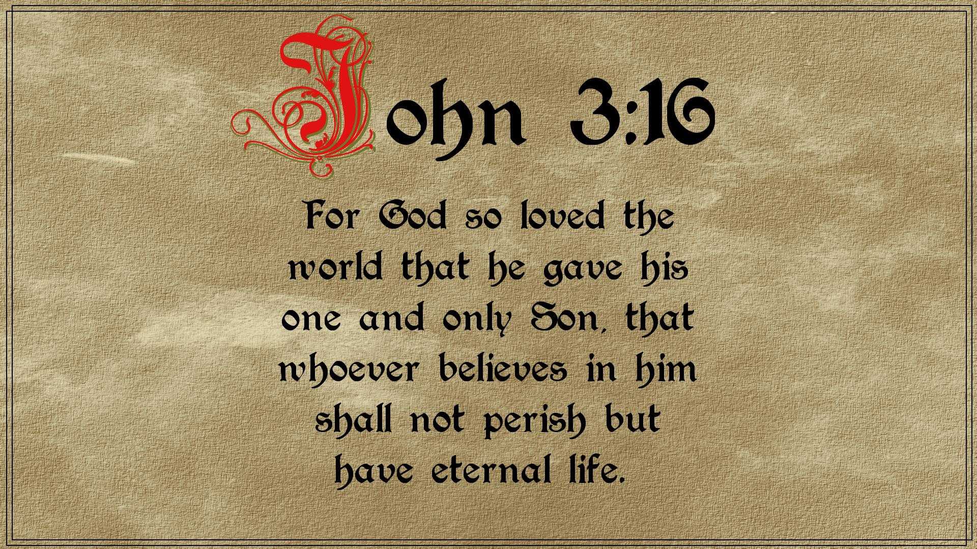 John 3:16, Bible, Catholic, Monks, HQ Photo