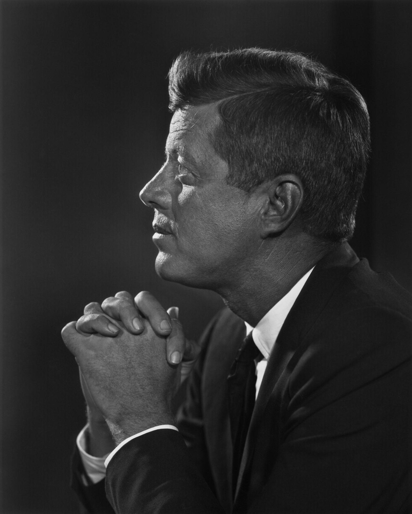 John F. Kennedy – Yousuf Karsh