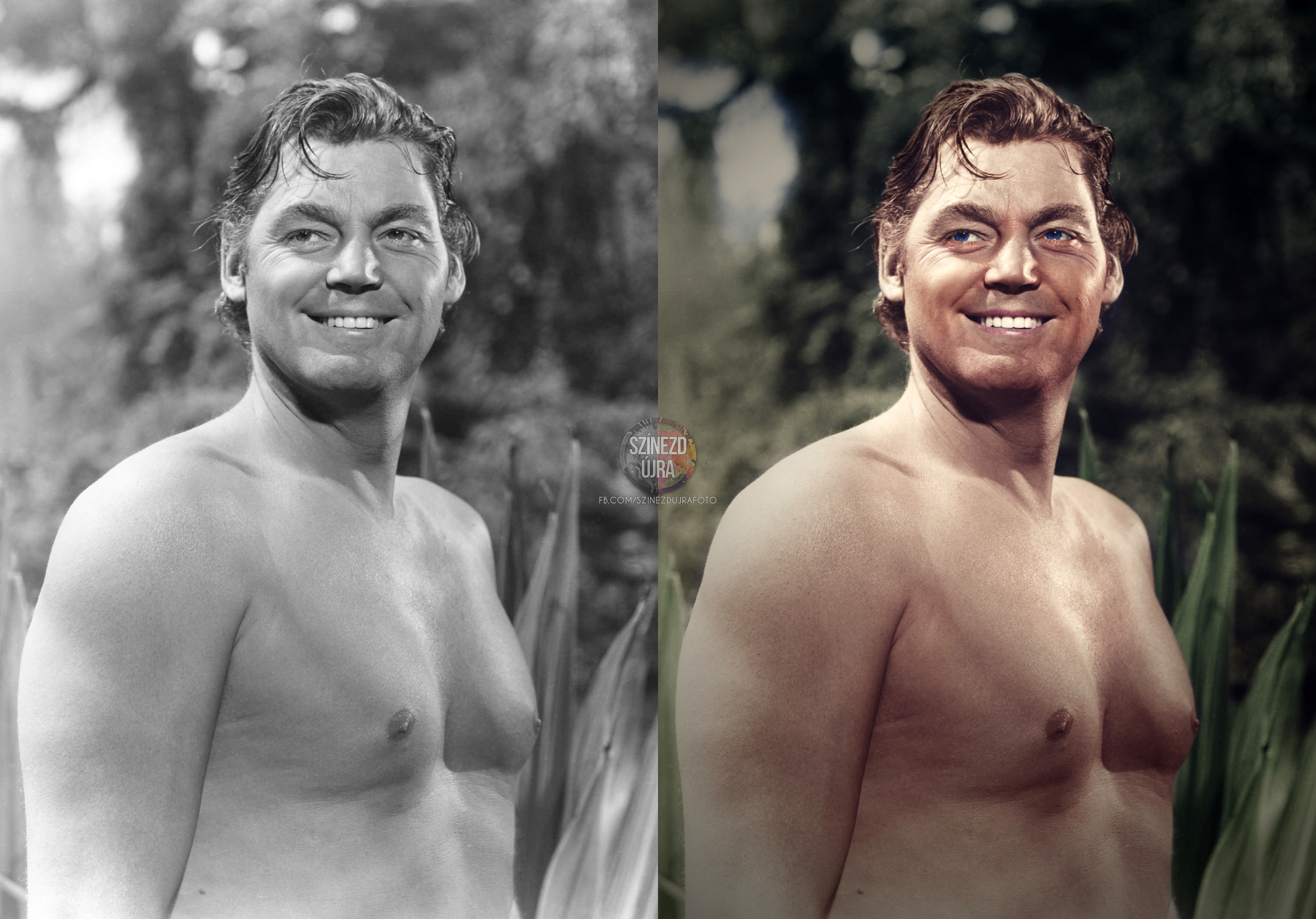 Johnny Weissmuller as Tarzan (1945) - Imgur