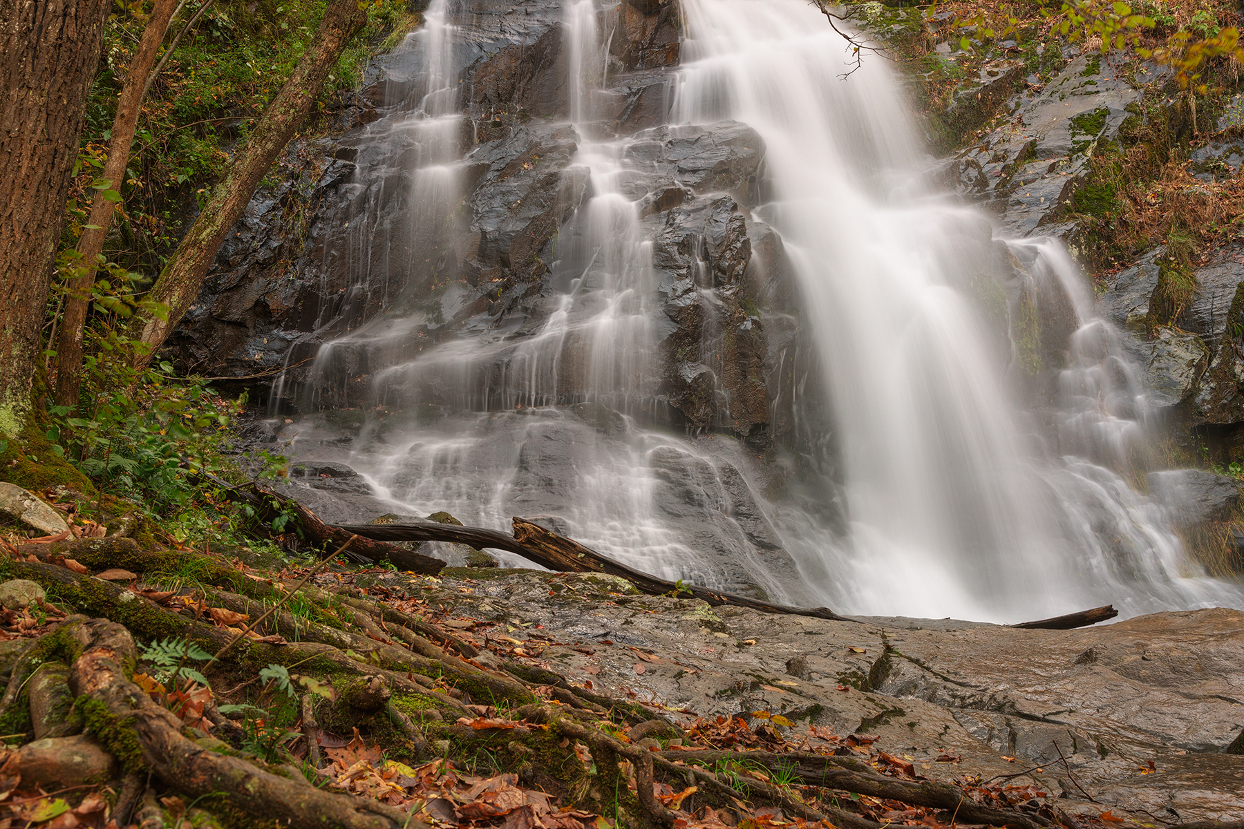 Jones run falls - hdr photo
