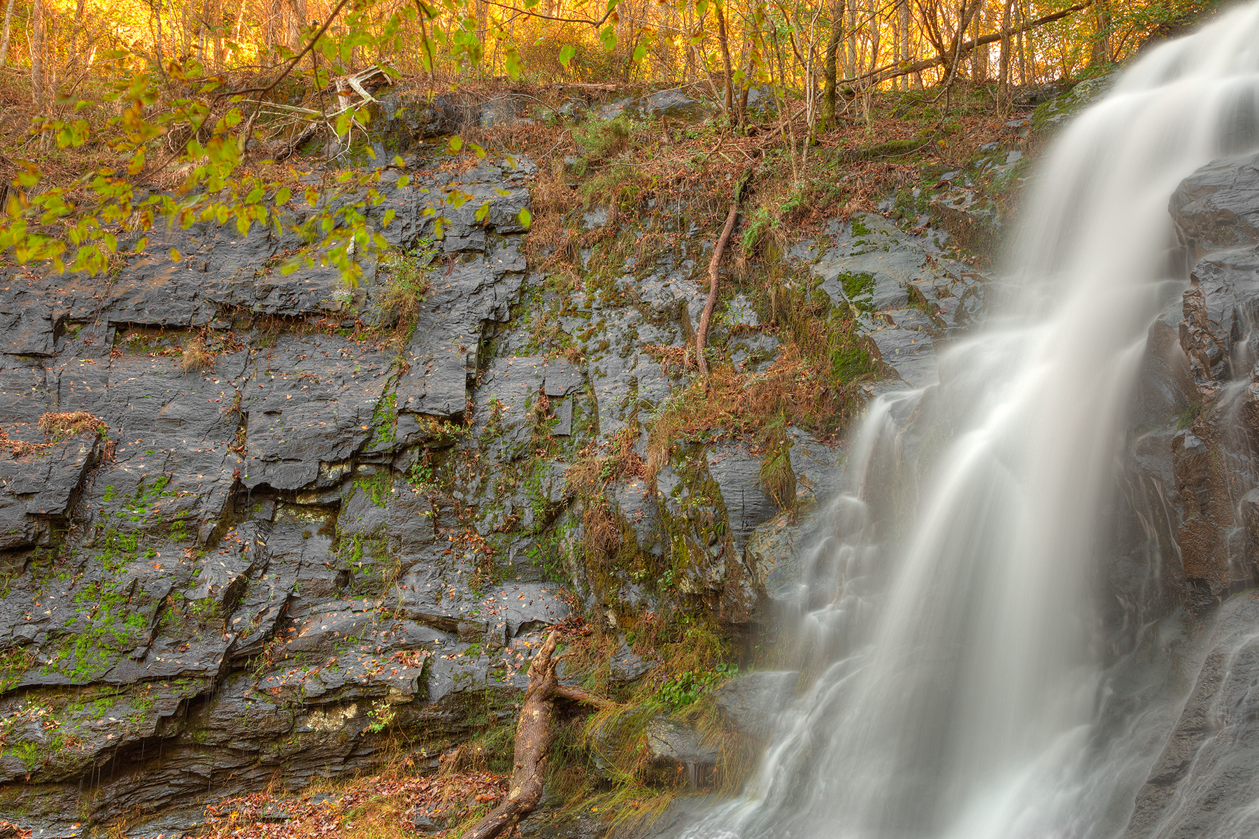 Jones run profile falls - hdr photo