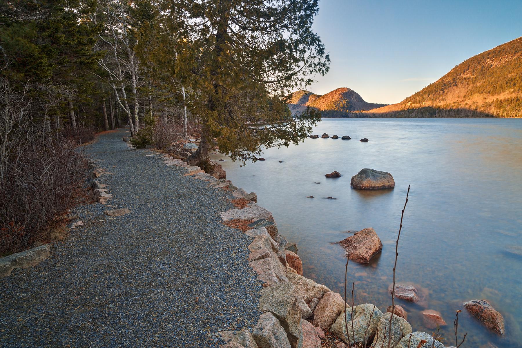 Jordan Pond Trail - HDR, Acadia, Pebble, Scenery, Scene, HQ Photo