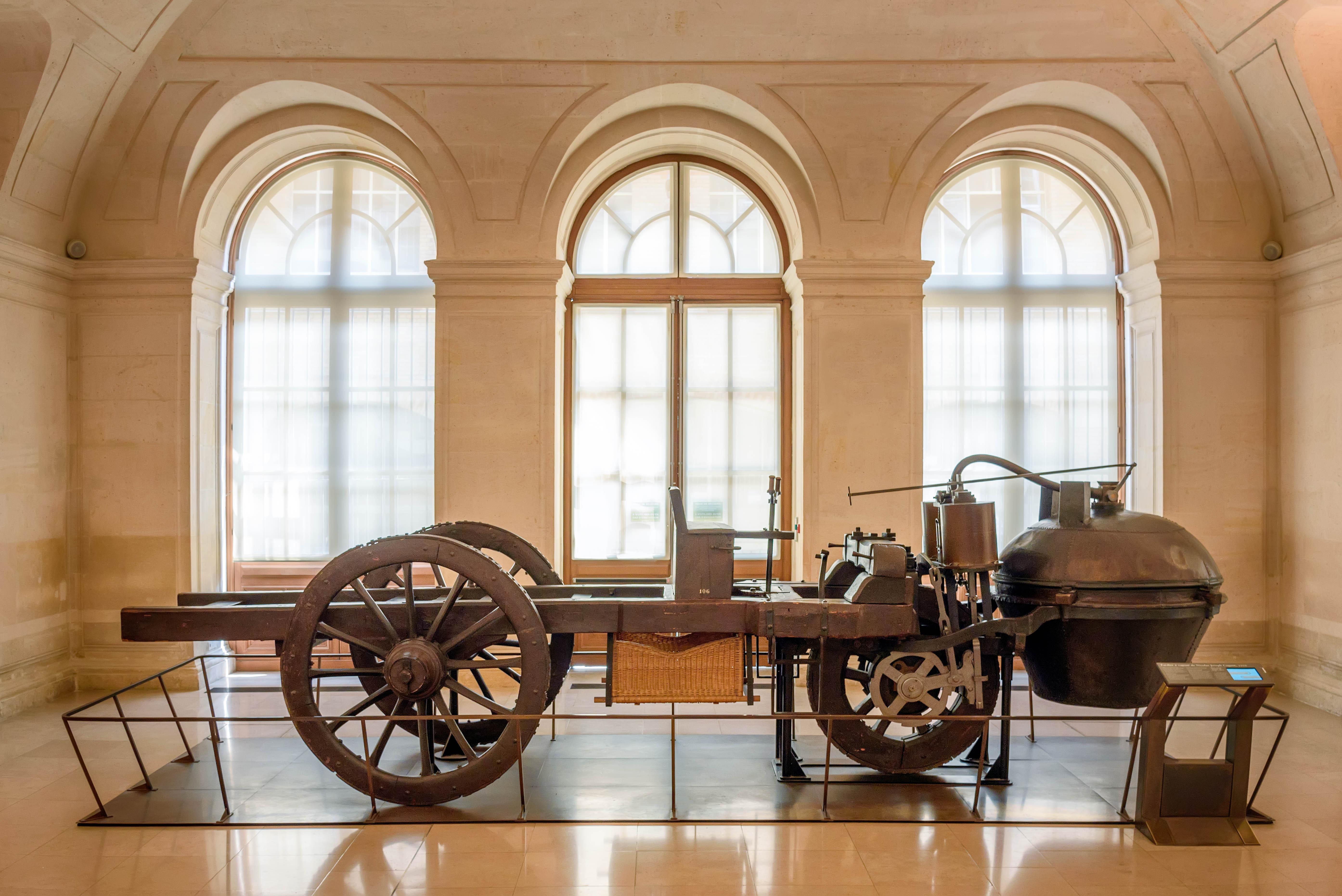 Joseph cugnot's 1770 fardier à vapeur photo