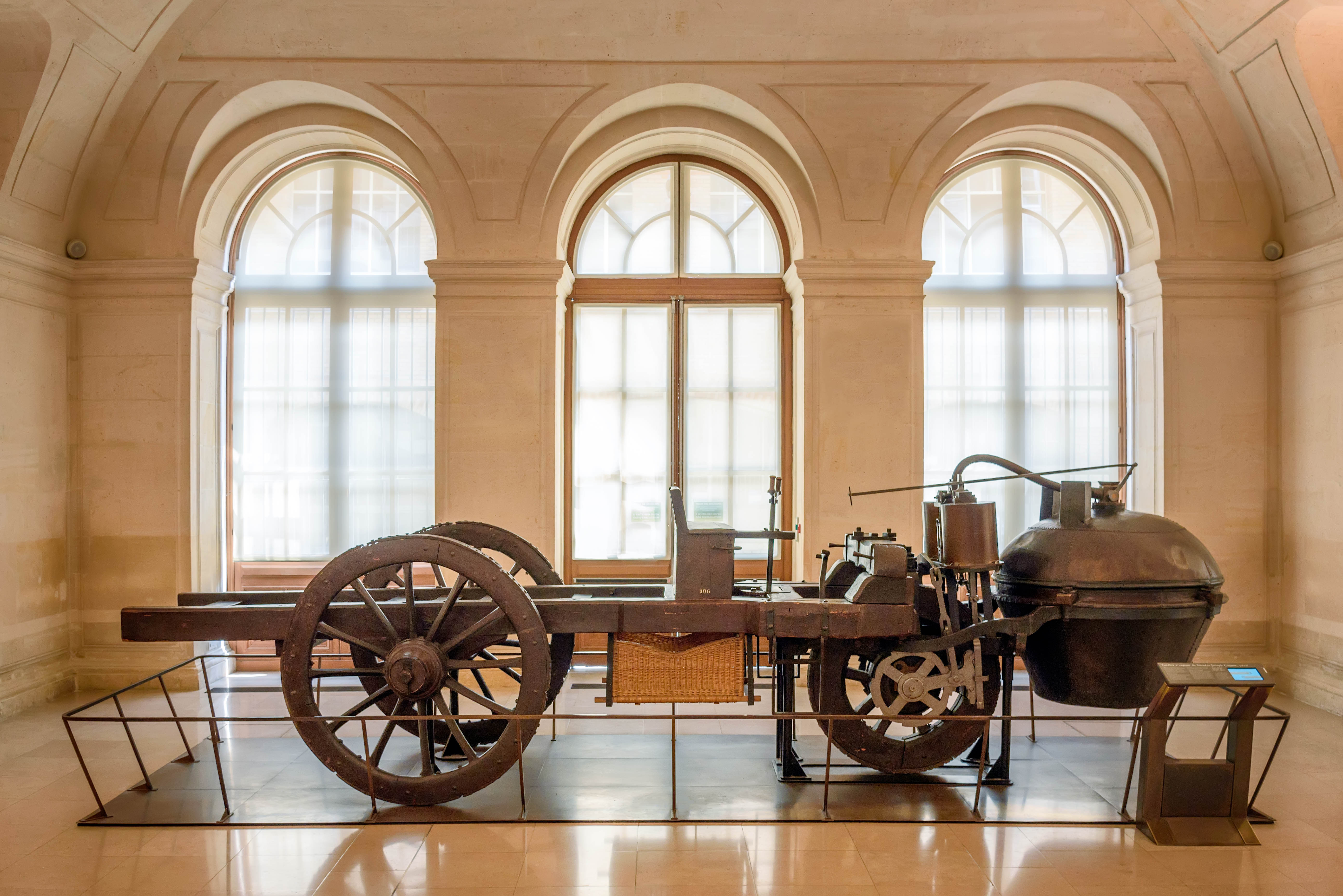 Joseph Cugnot's 1770 Fardier à Vapeur, 2015, Nikon, Truck, Steamer, HQ Photo