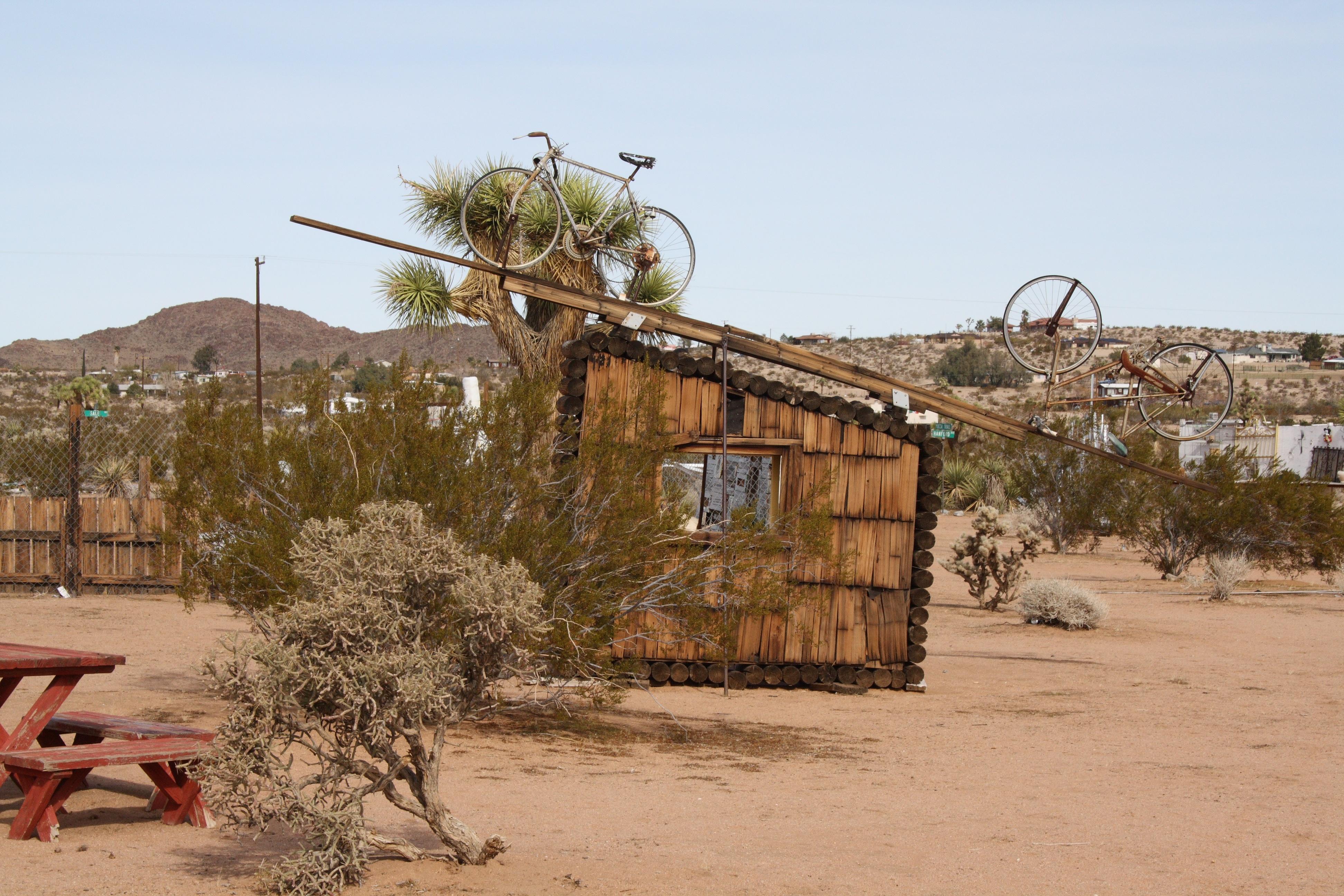 Joshua tree shack photo