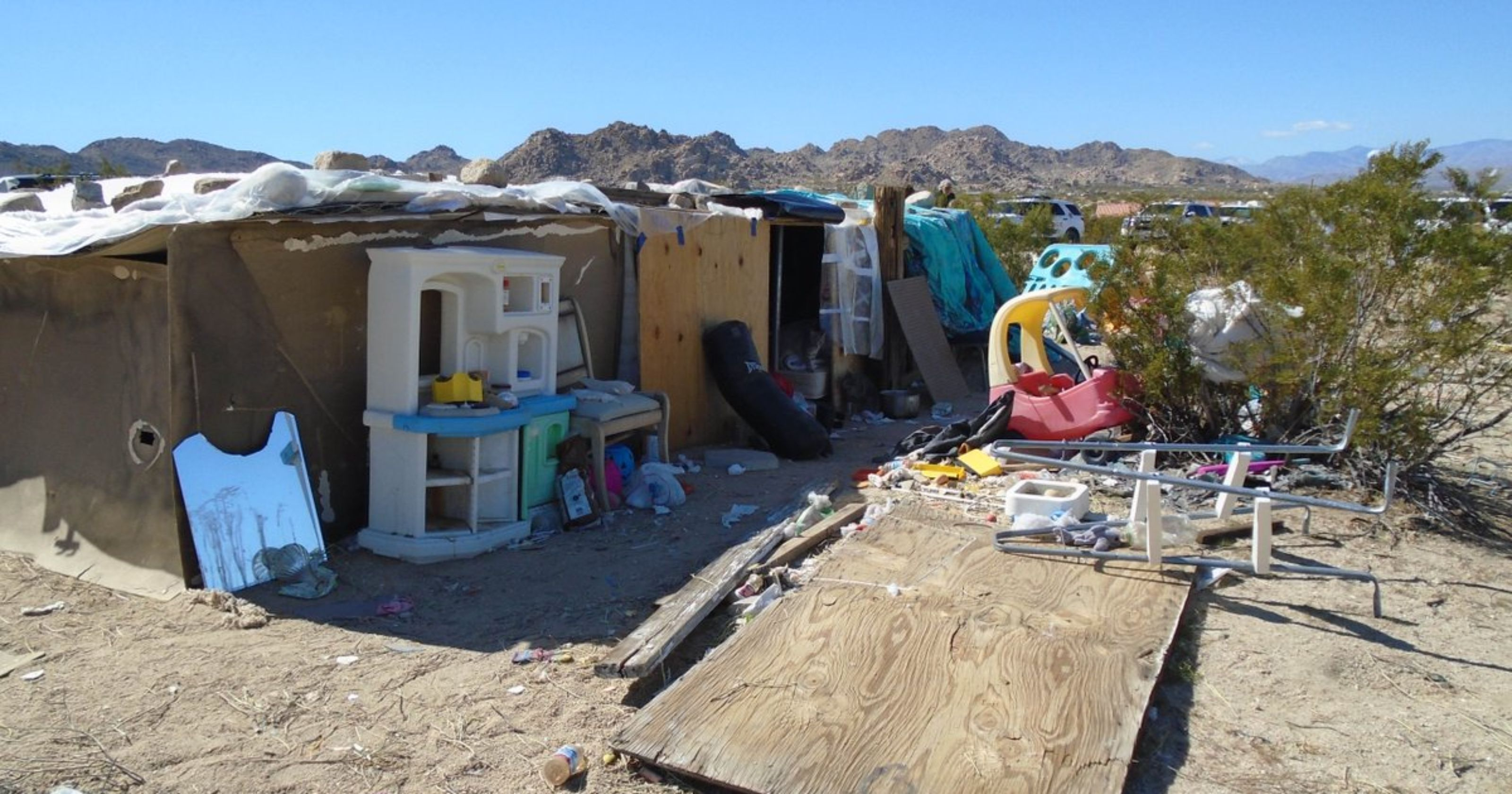 Three Joshua Tree children were living in a shack for years, parents ...