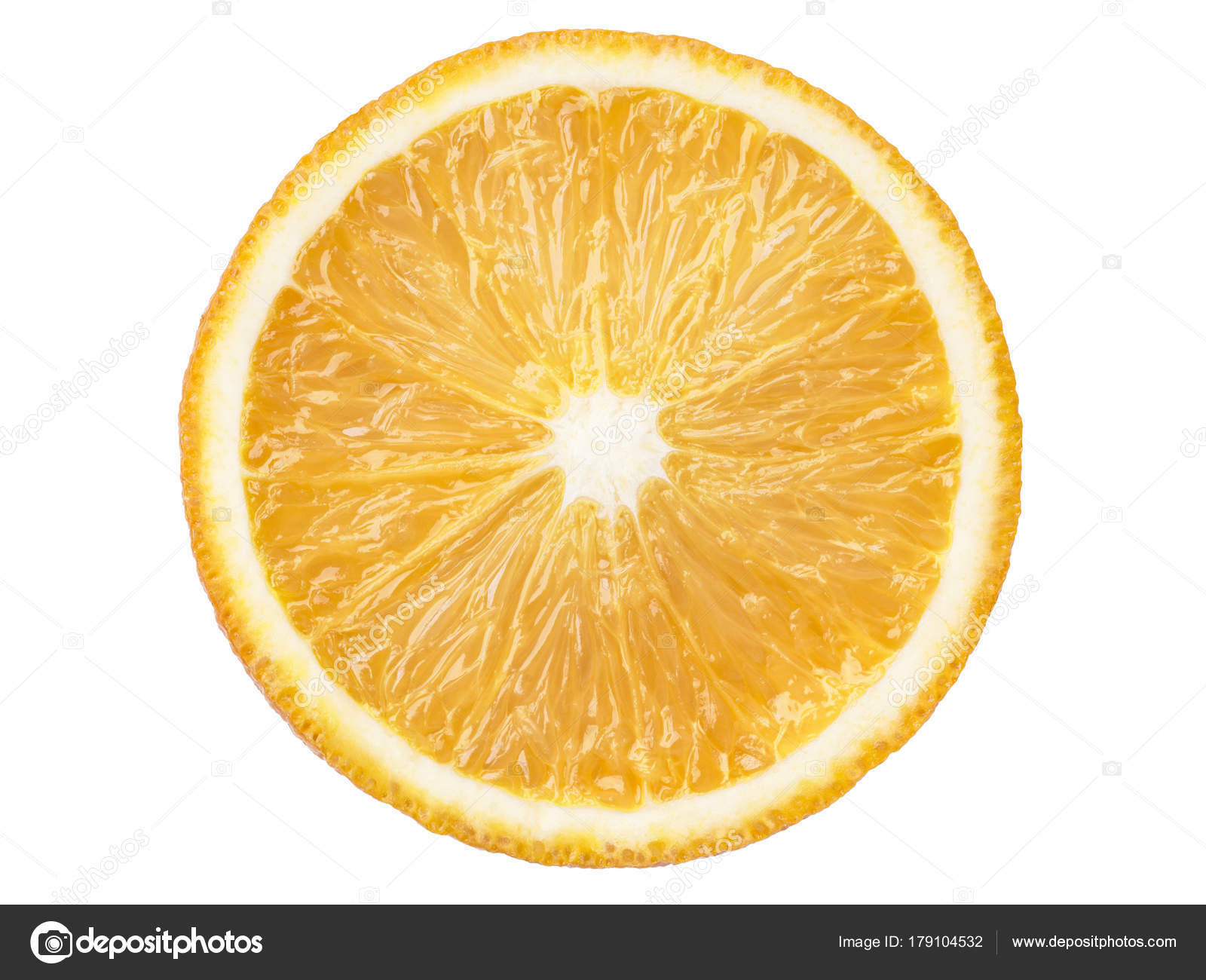 bright juicy orange slice — Stock Photo © yurizap #179104532