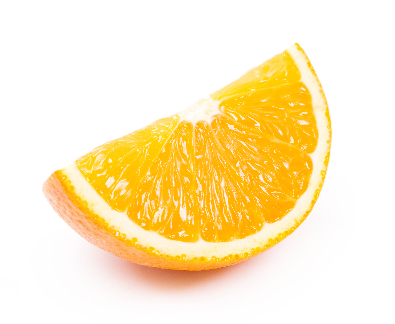 Juicy Orange Slice, Yellow, Skin, Orange, Organic, HQ Photo