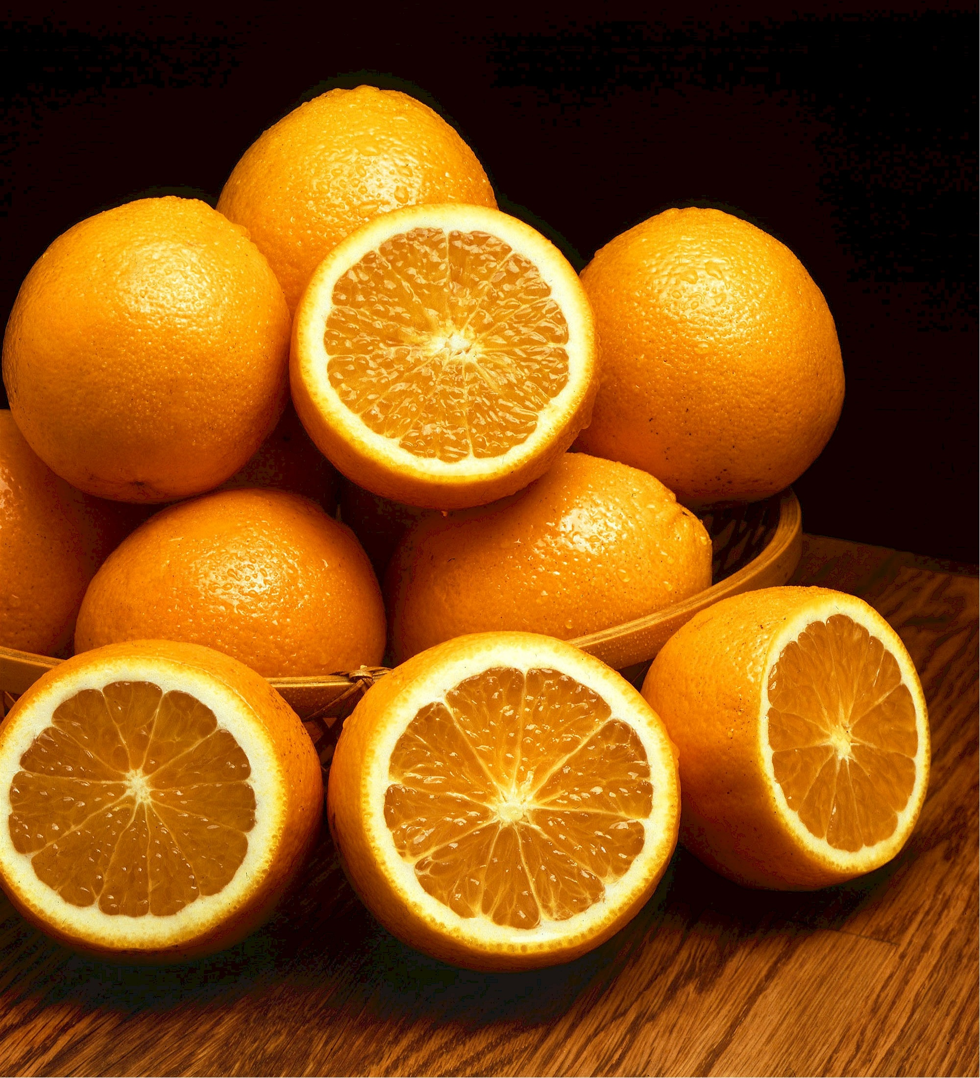 Juicy oranges photo