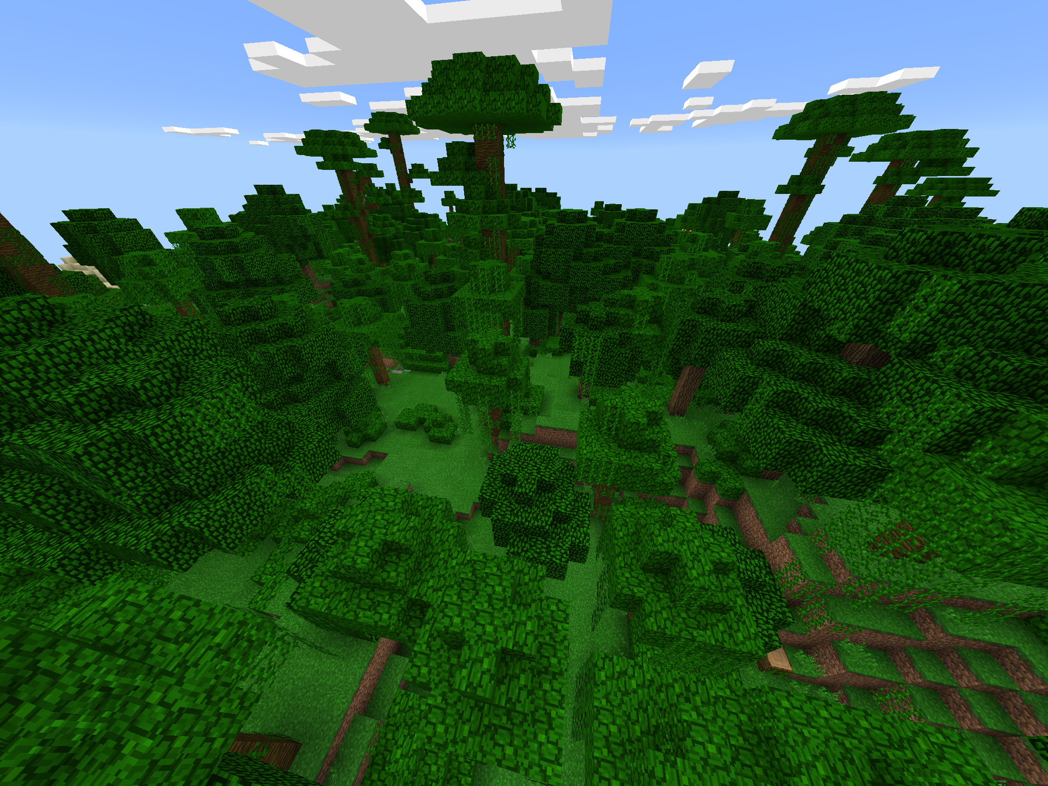 Jungle and Villages [Diamond] - MCPE 1.0 - Epic Minecraft PE Seeds