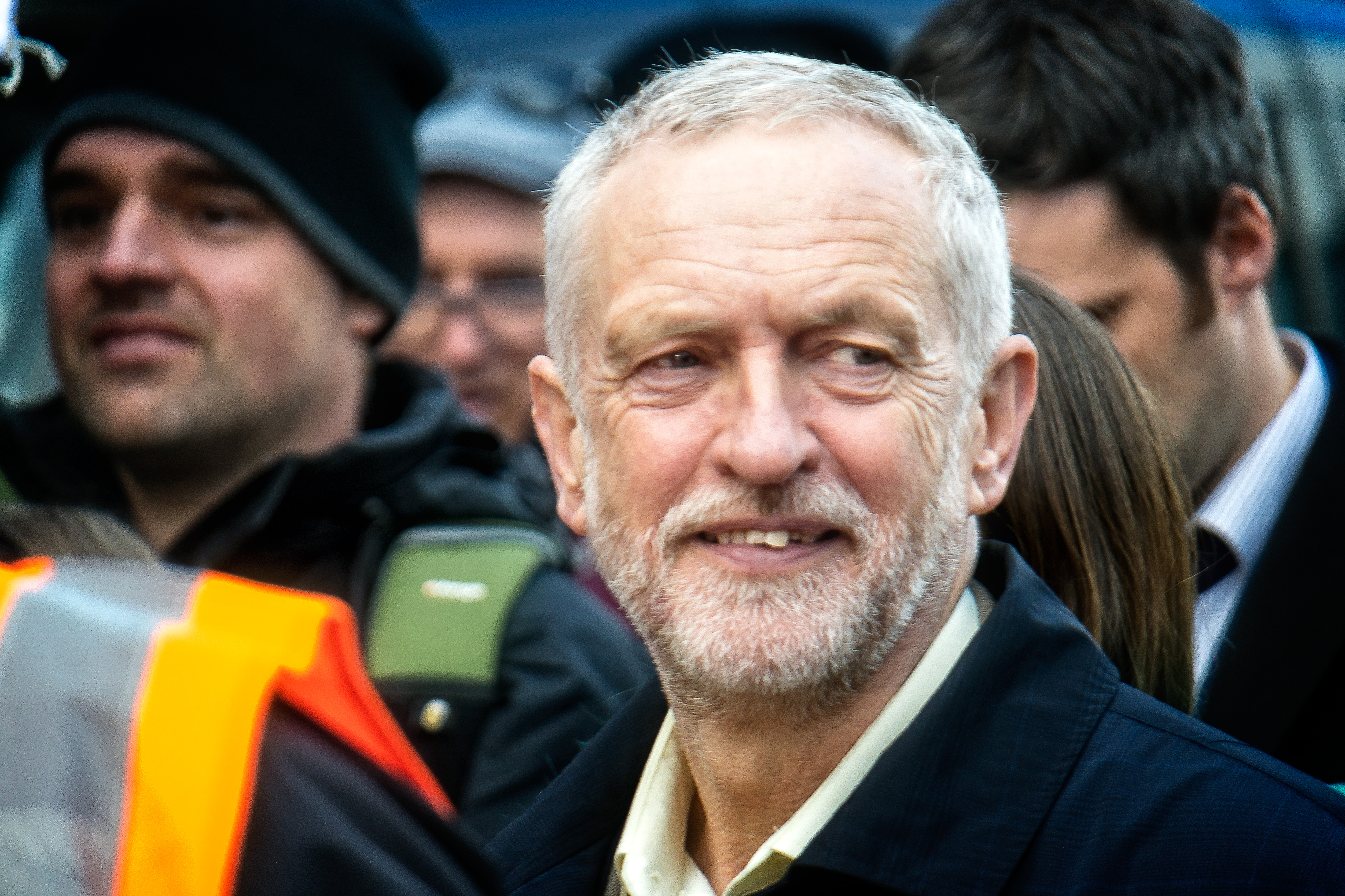 #juniordoctorsstrike jeremy corbyn photo