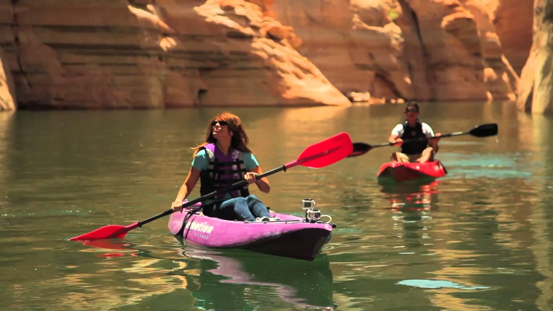 Kayaking Lake Powell - YouTube