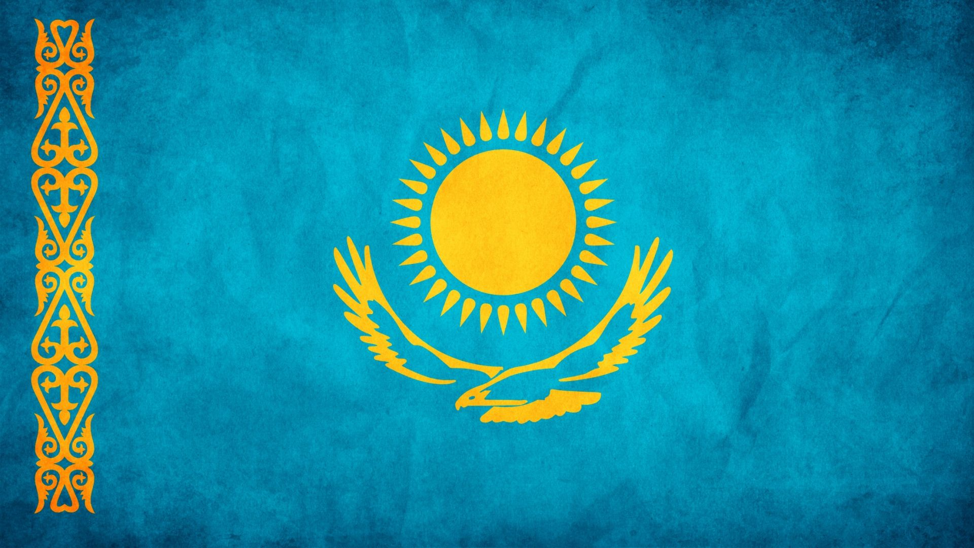 Kazakhstan | Maps and Flags | Pinterest | Kazakhstan flag and Flags